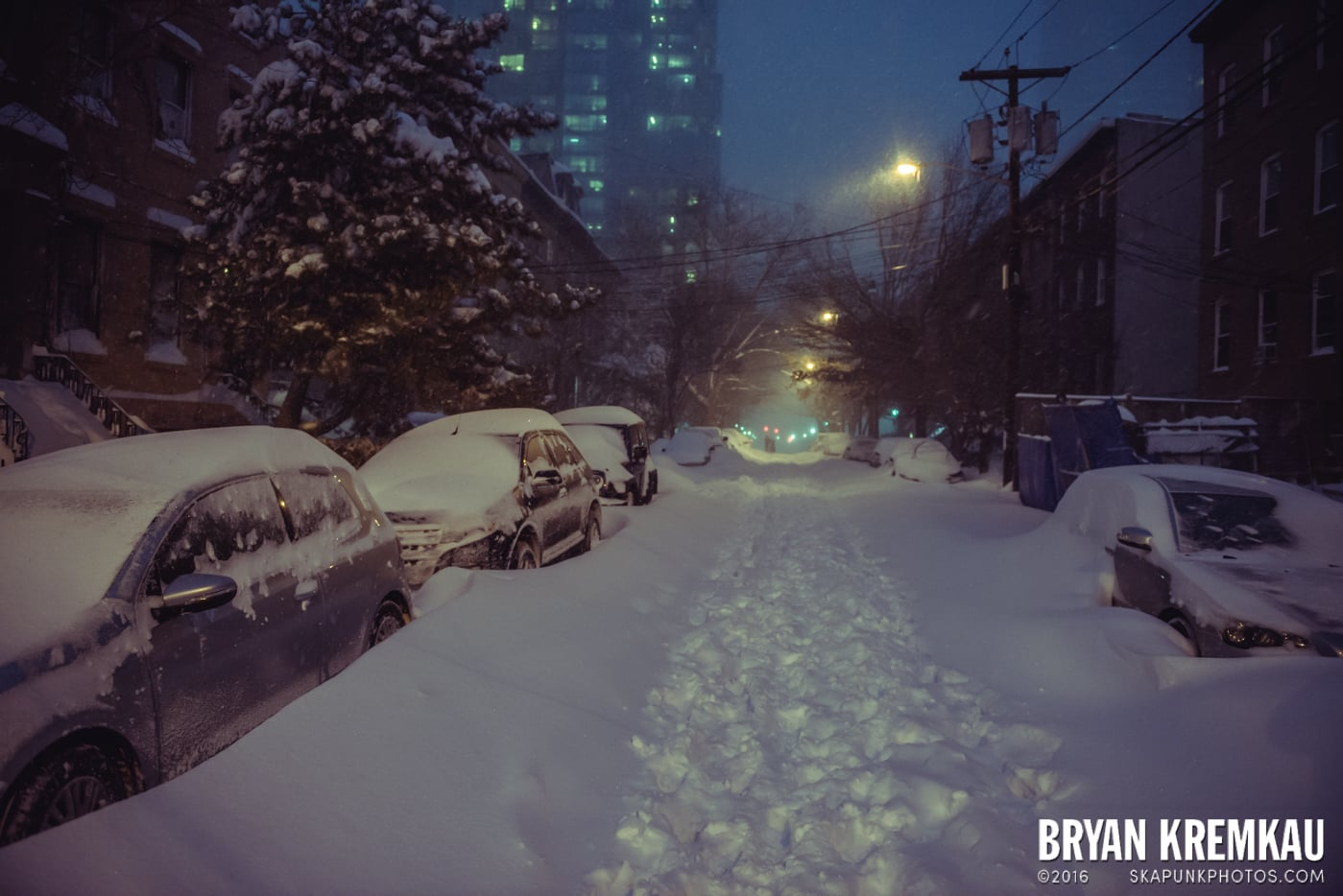 Blizzard 2016 in Jersey City, NJ - 1.23.16 (15)