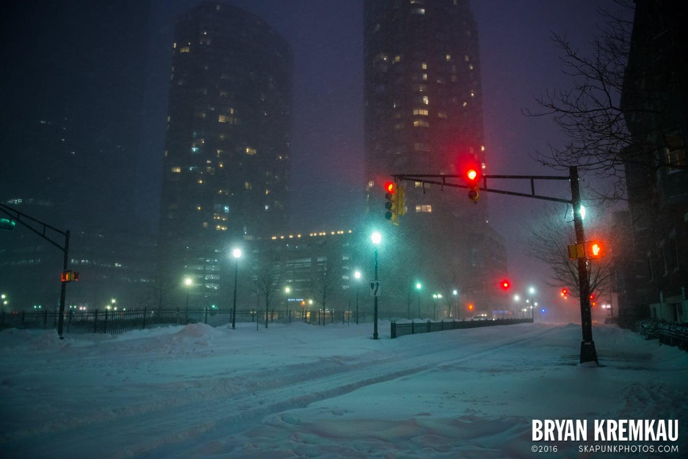 Blizzard 2016 in Jersey City, NJ - 1.23.16 (13)