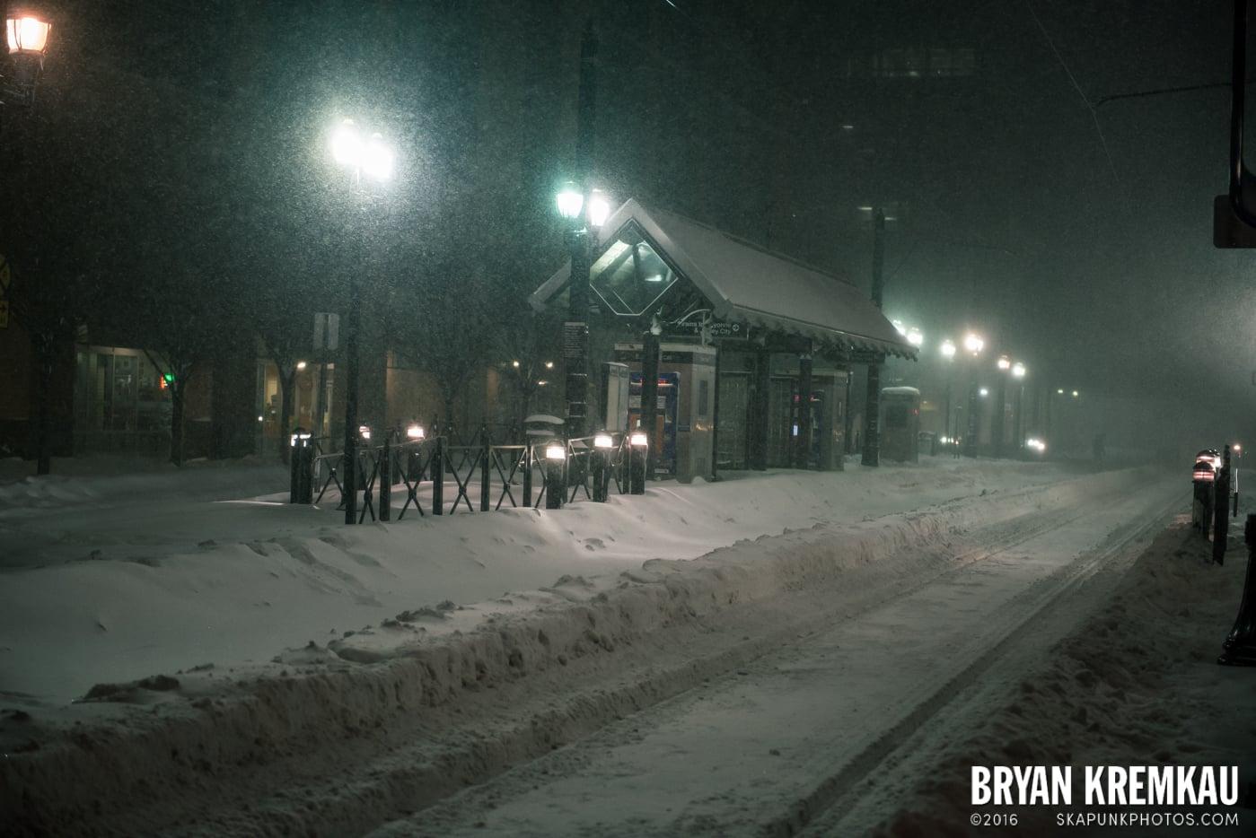 Blizzard 2016 in Jersey City, NJ - 1.23.16 (8)