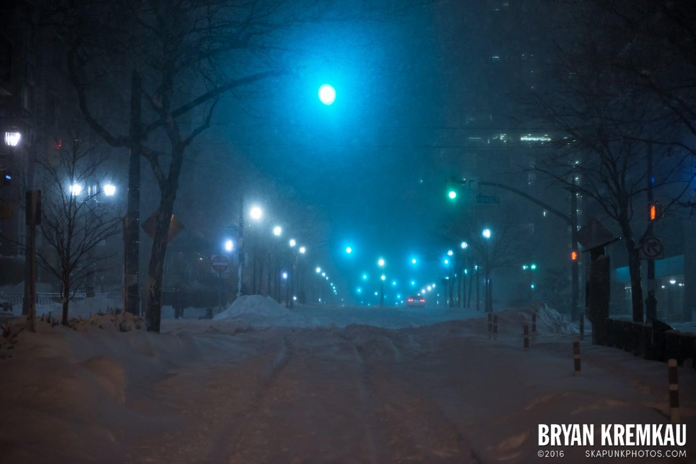 Blizzard 2016 in Jersey City, NJ - 1.23.16 (7)