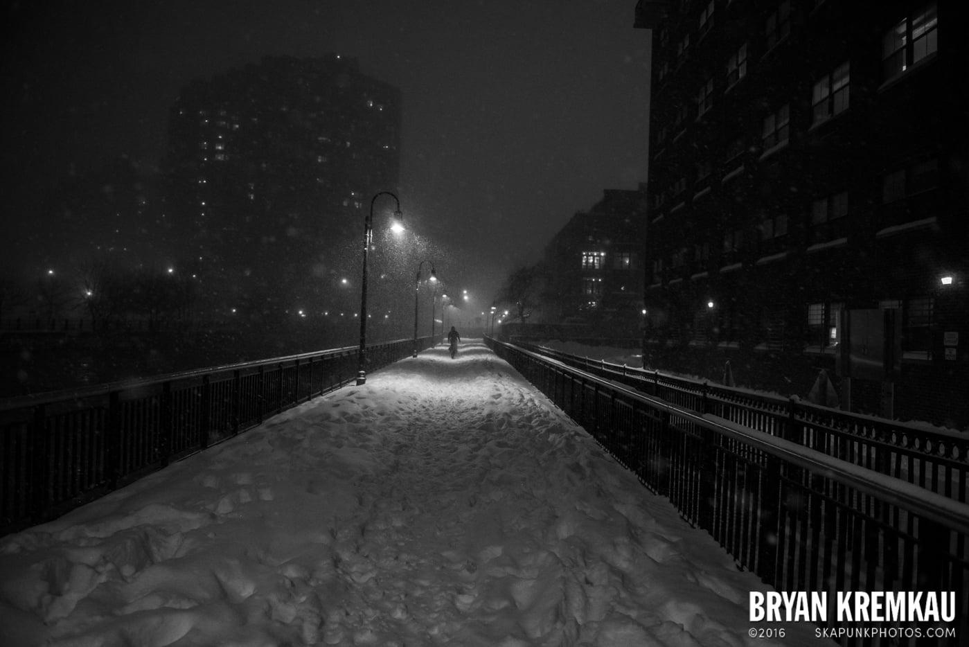 Blizzard 2016 in Jersey City, NJ - 1.23.16 (5)