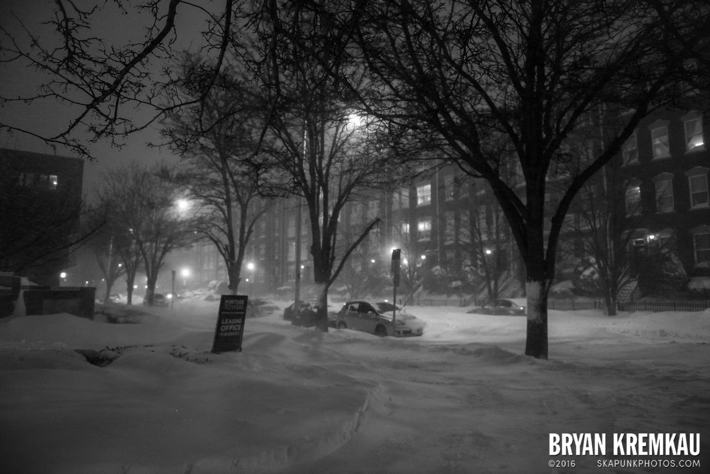 Blizzard 2016 in Jersey City, NJ - 1.23.16 (2)