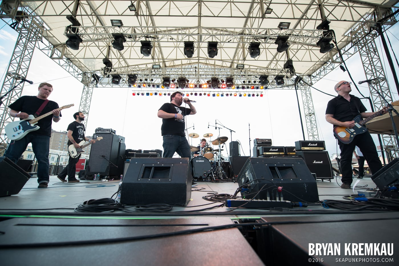Iron Chic @ Punk Rock Bowling, Stone Pony Summerstage, Asbury Park, NJ - 6.11.16 (2)