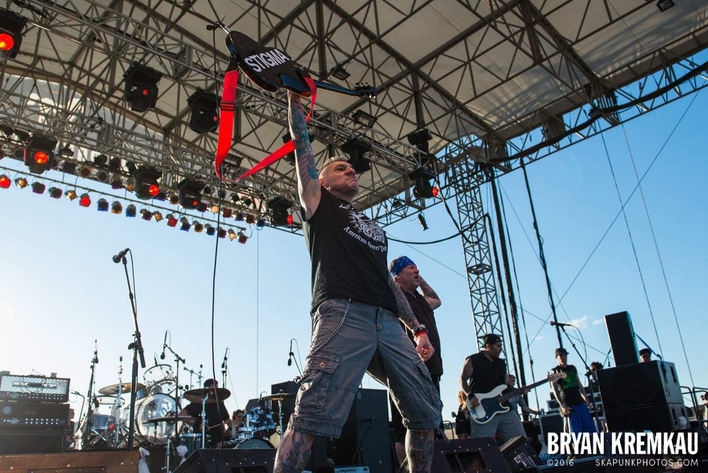 Agnostic Front @ Punk Rock Bowling, Stone Pony Summerstage, Asbury Park, NJ - 6.12.16 (8)