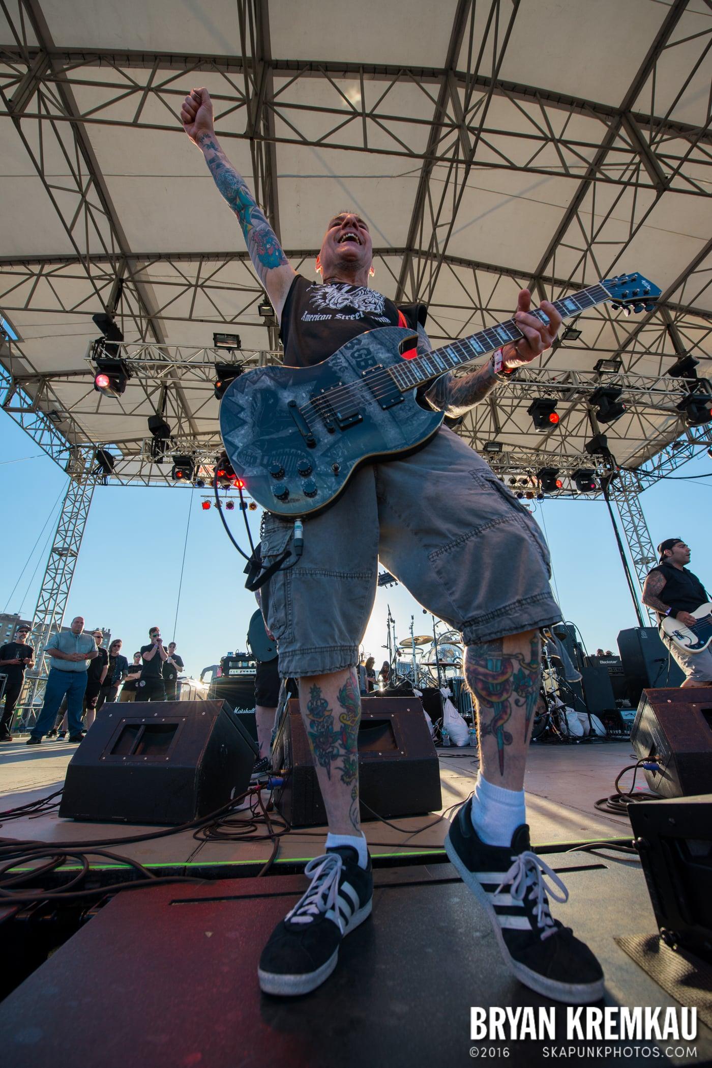Agnostic Front @ Punk Rock Bowling, Stone Pony Summerstage, Asbury Park, NJ - 6.12.16 (2)