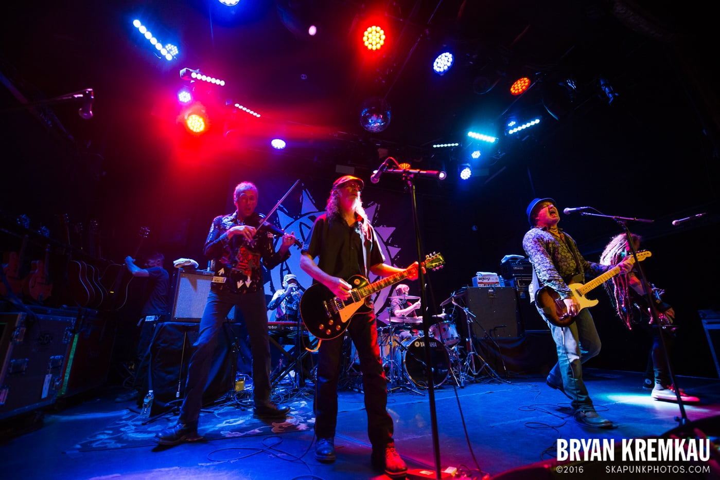 The Levellers @ Bowery Ballroom, NYC - 9.26.16 (46)