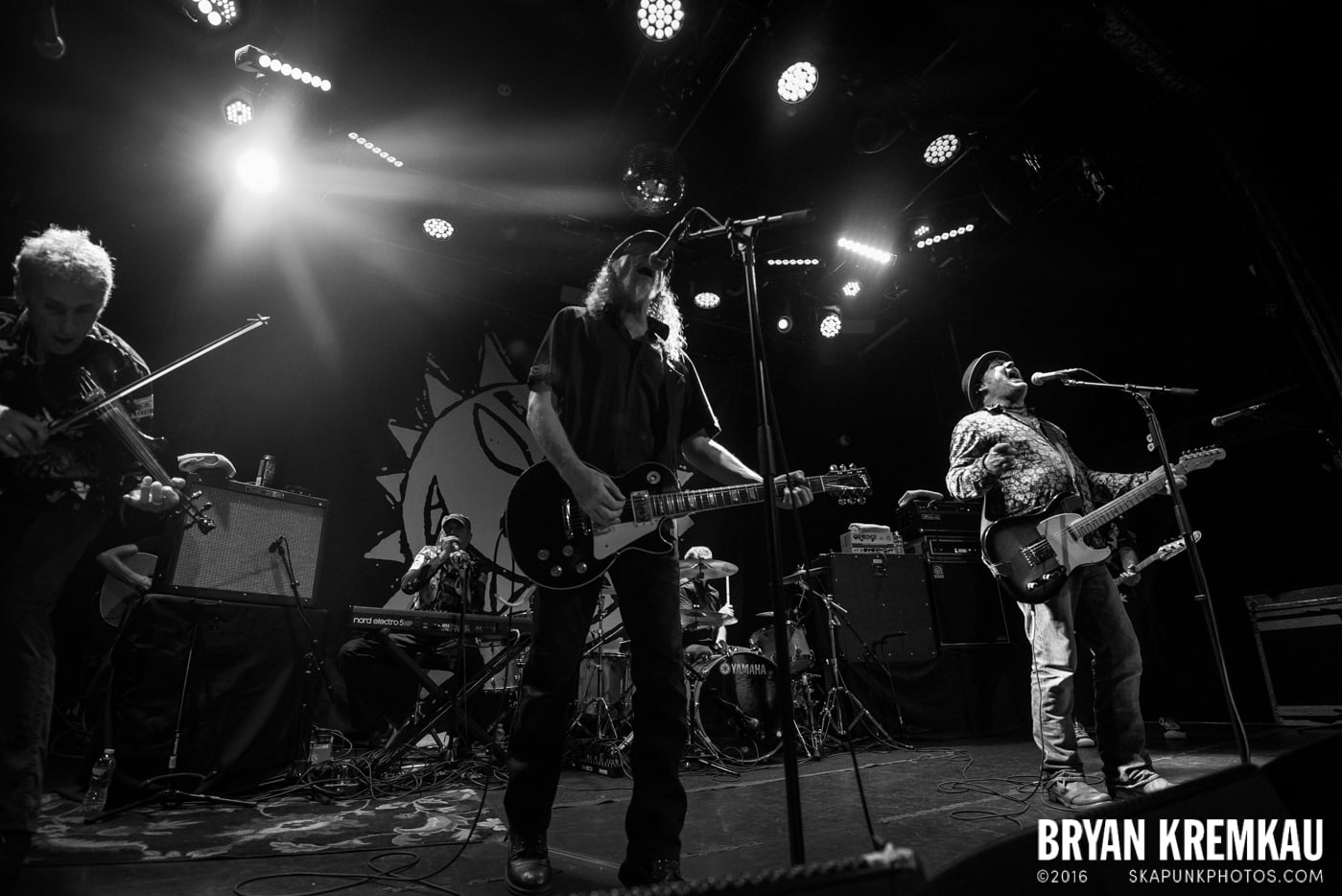 The Levellers @ Bowery Ballroom, NYC - 9.26.16 (45)