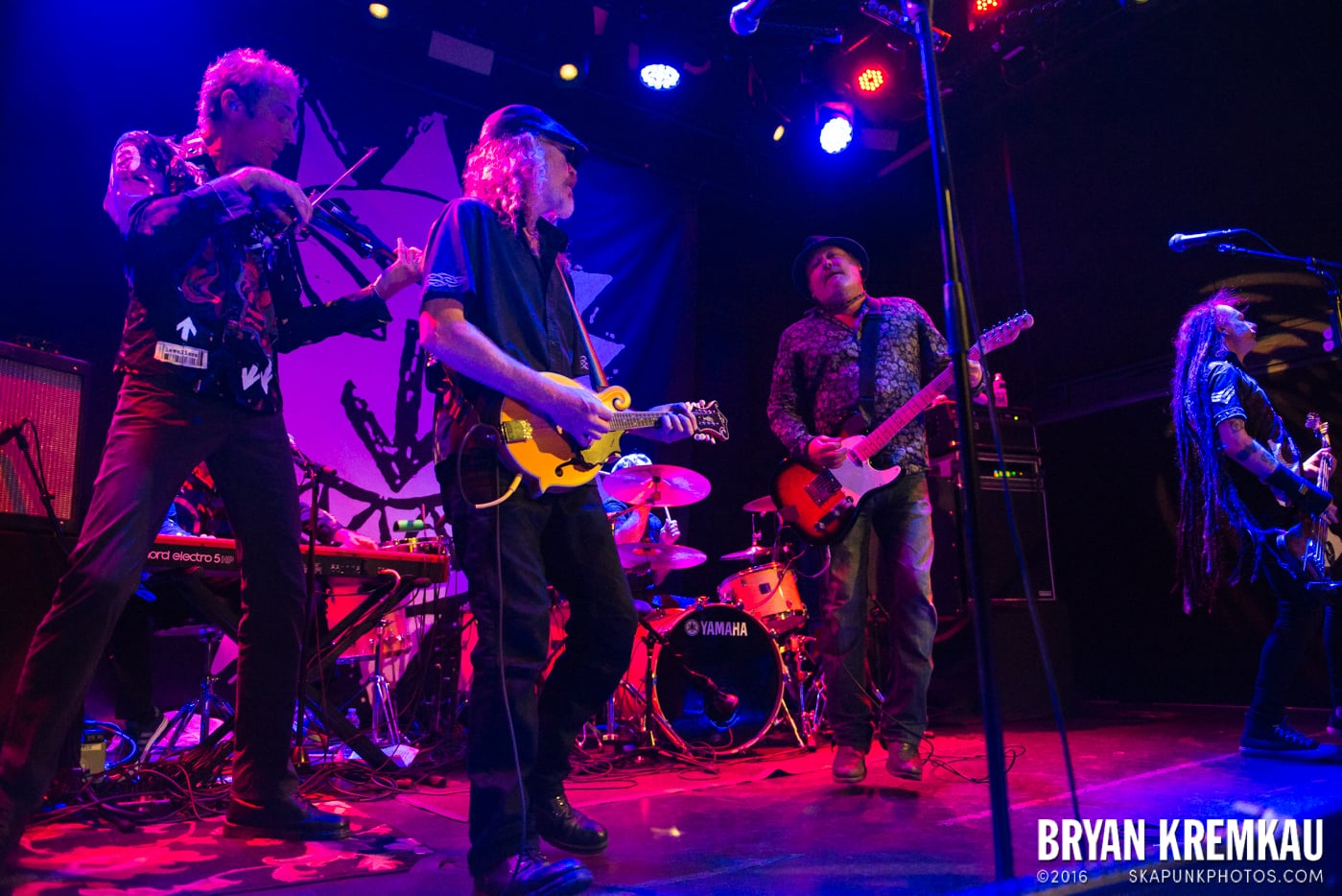 The Levellers @ Bowery Ballroom, NYC - 9.26.16 (33)
