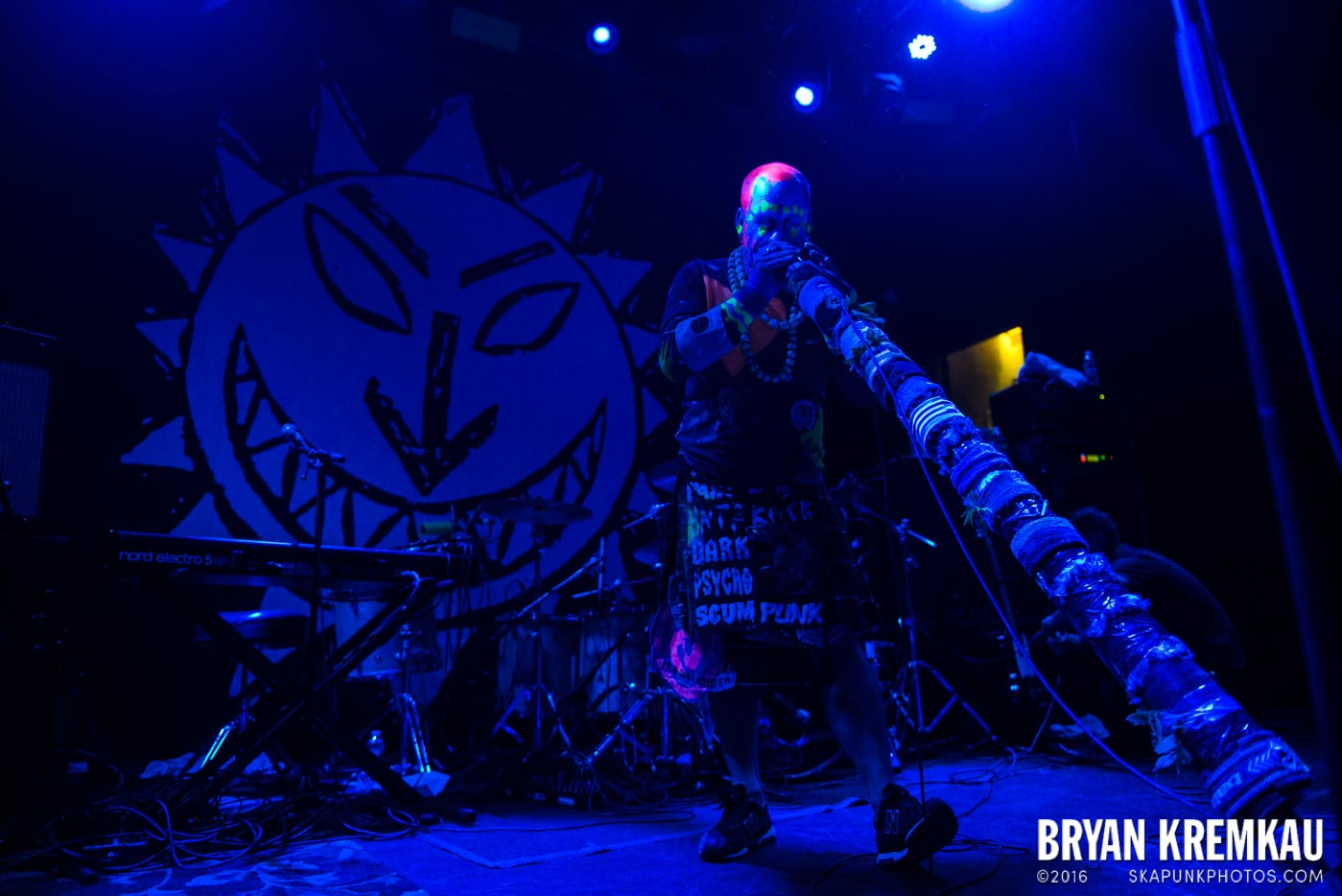 The Levellers @ Bowery Ballroom, NYC - 9.26.16 (21)