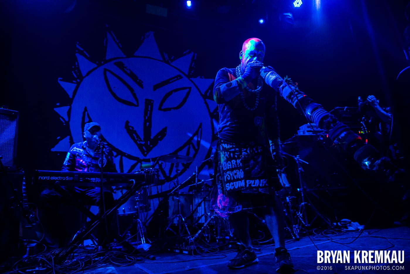 The Levellers @ Bowery Ballroom, NYC - 9.26.16 (20)