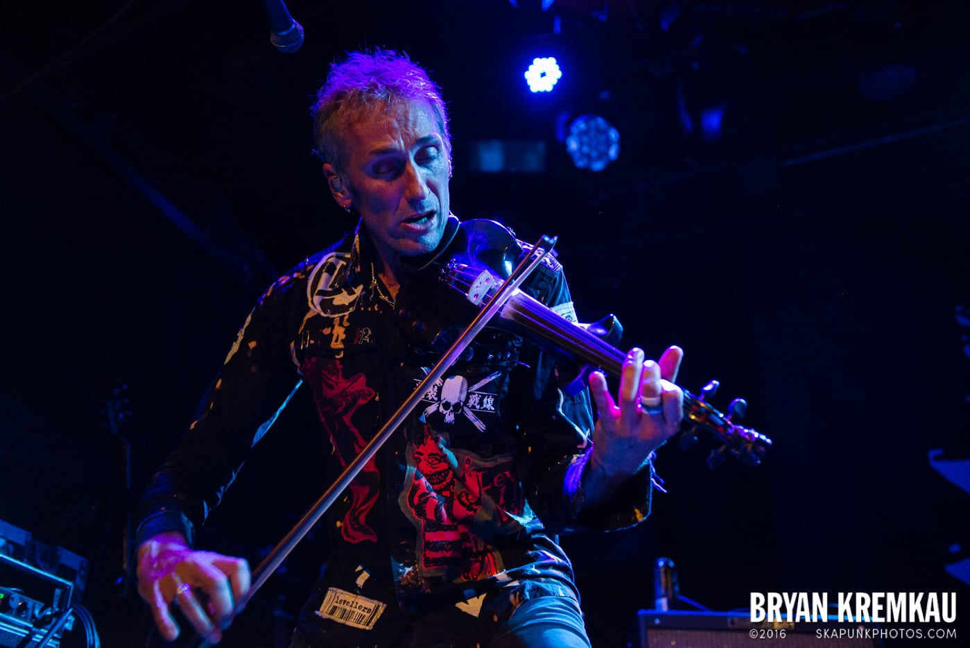 The Levellers @ Bowery Ballroom, NYC - 9.26.16 (16)