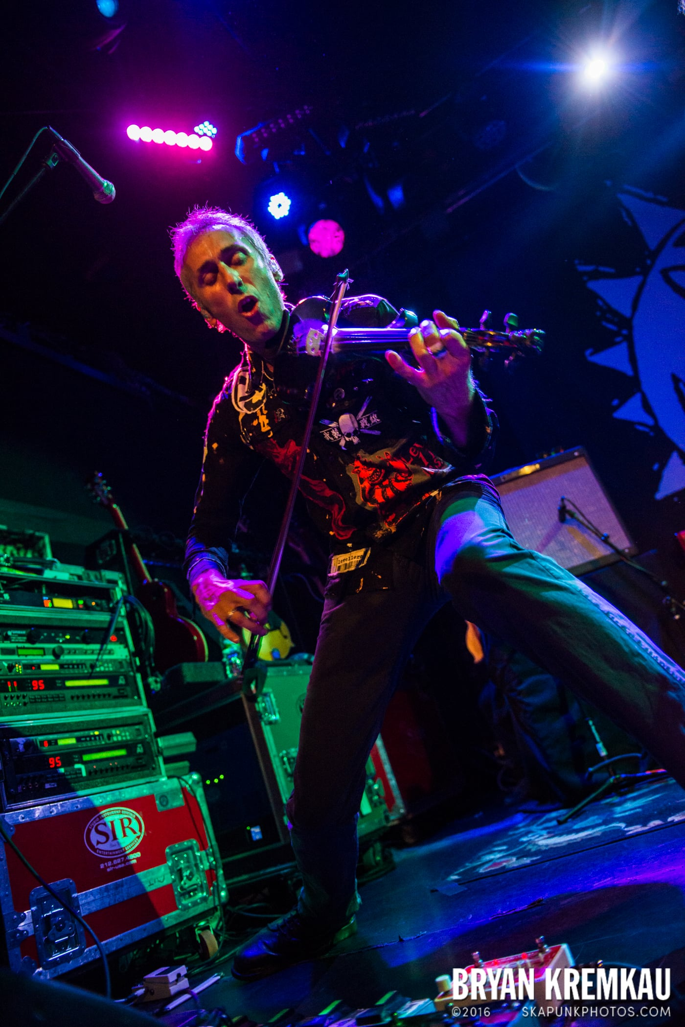 The Levellers @ Bowery Ballroom, NYC - 9.26.16 (14)