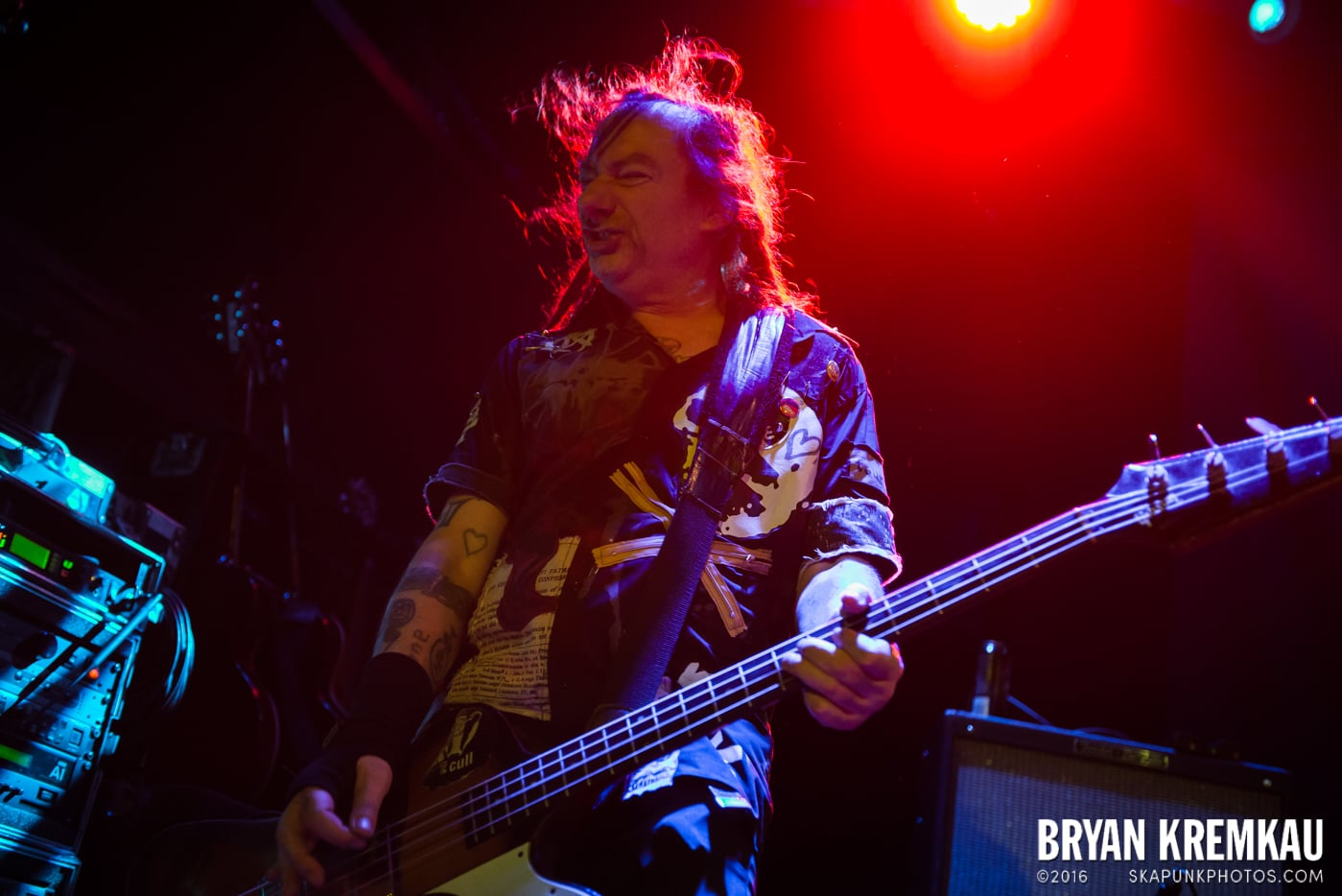 The Levellers @ Bowery Ballroom, NYC - 9.26.16 (12)