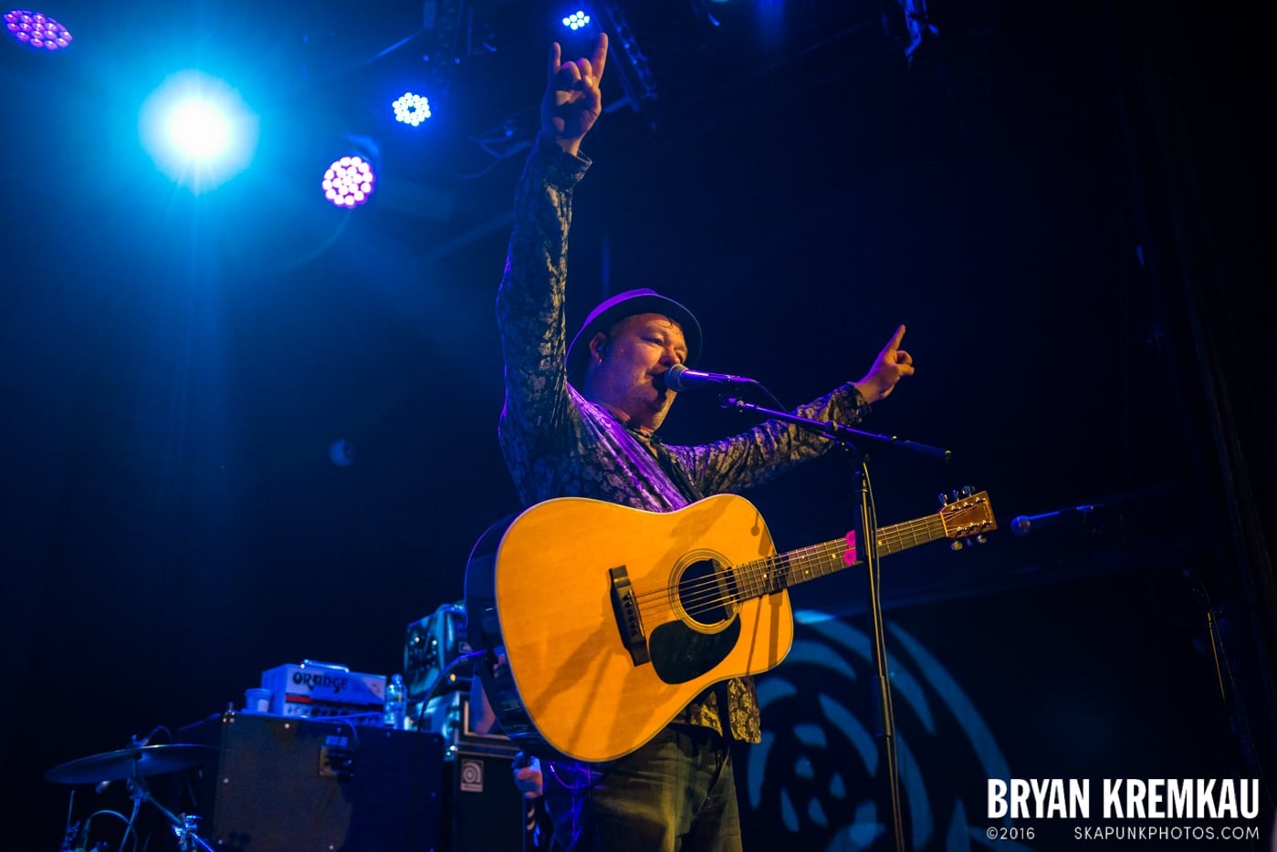 The Levellers @ Bowery Ballroom, NYC - 9.26.16 (6)