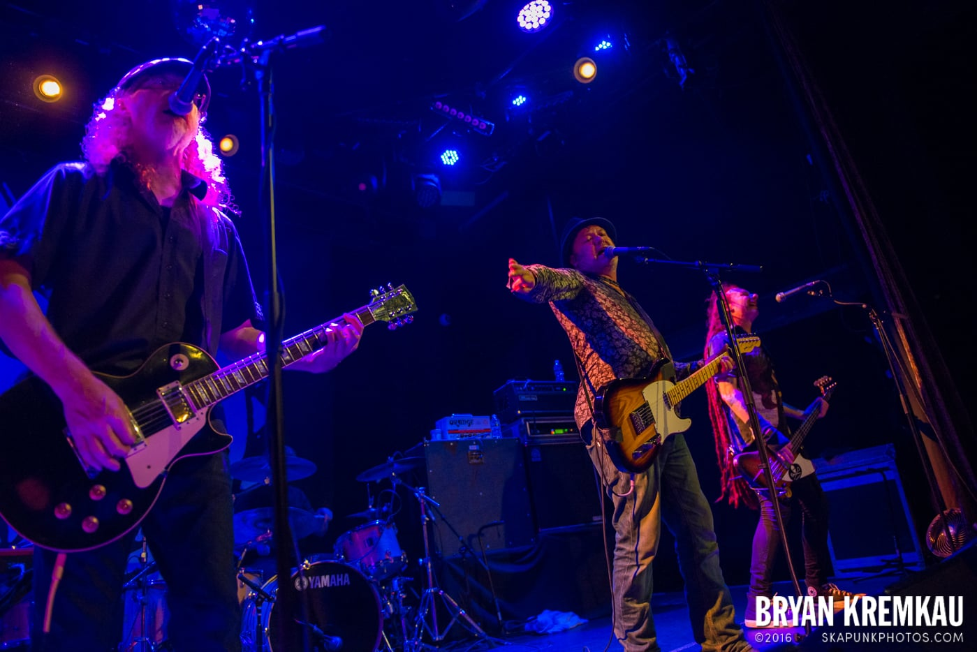 The Levellers @ Bowery Ballroom, NYC - 9.26.16 (3)