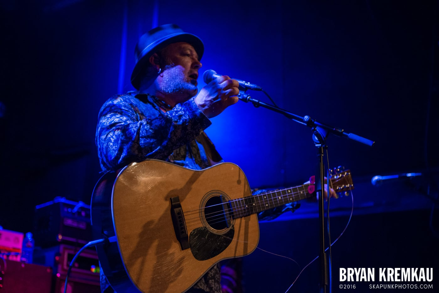 The Levellers @ Bowery Ballroom, NYC - 9.26.16 (2)