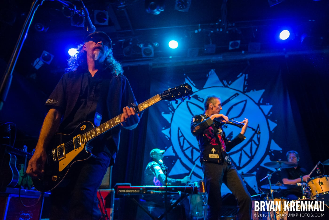 The Levellers @ Music Hall of Williamsburg, Brooklyn, NY - 9.25.16 (56)