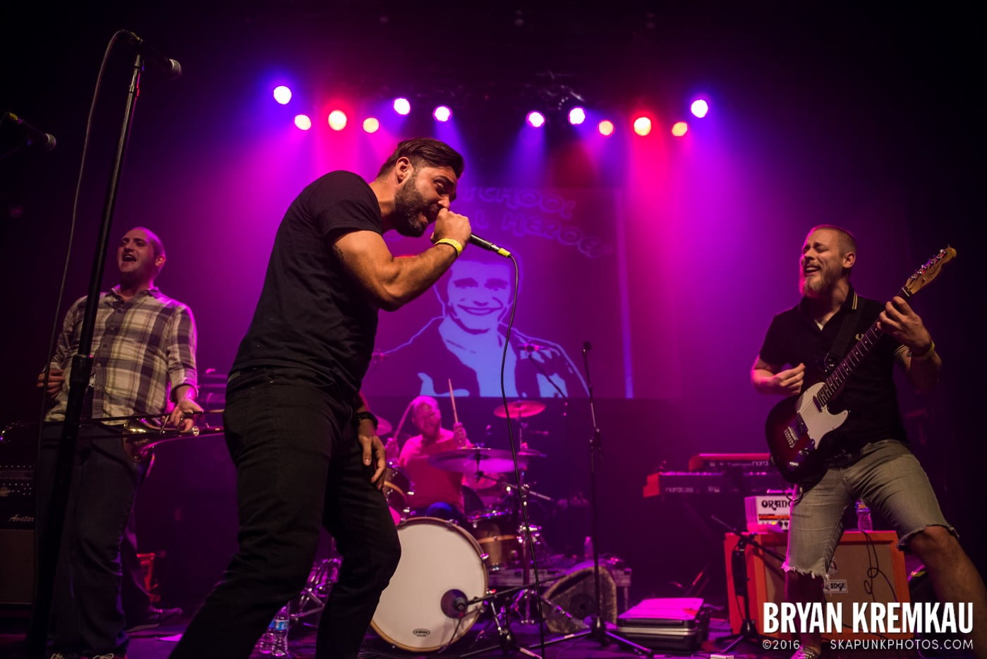 High School Football Heroes @ Gramercy Theatre, NYC - 10.6.16 (24)