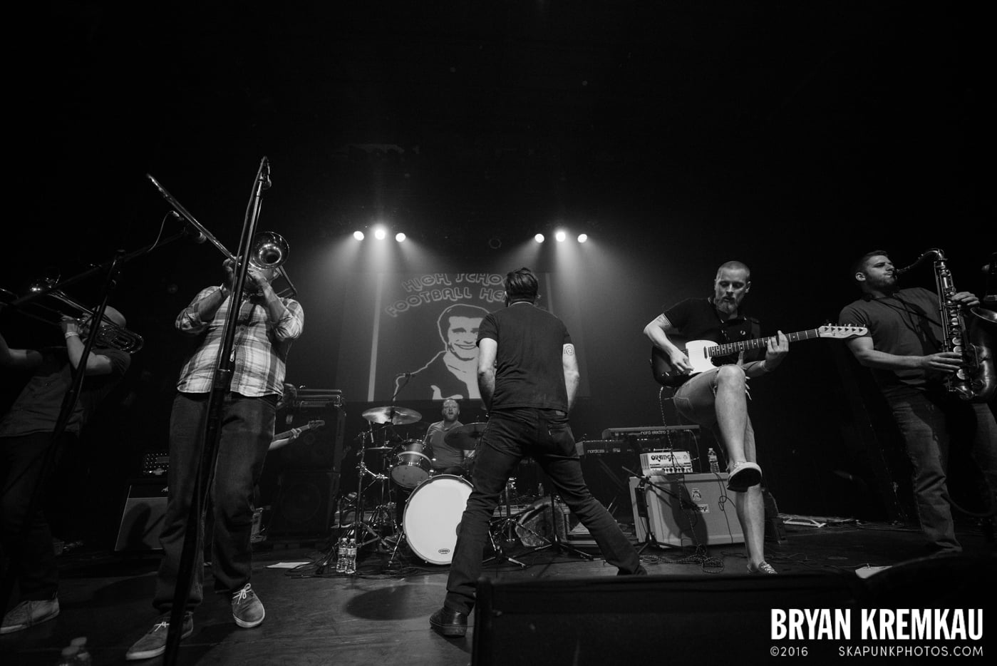 High School Football Heroes @ Gramercy Theatre, NYC - 10.6.16 (13)