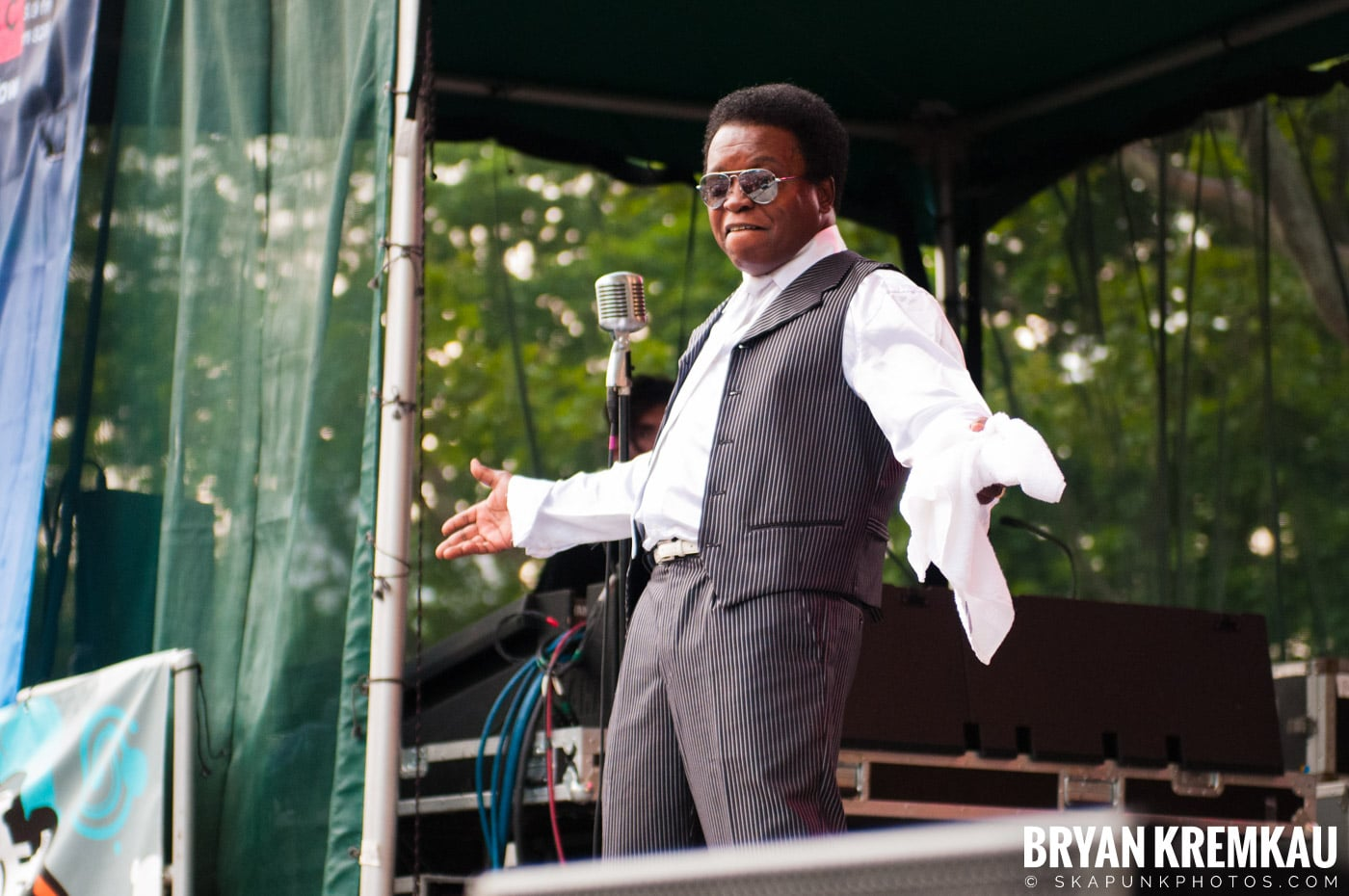 Lee Fields & The Expressions @ Central Park SummerStage, NYC - 6.24.11 (26)