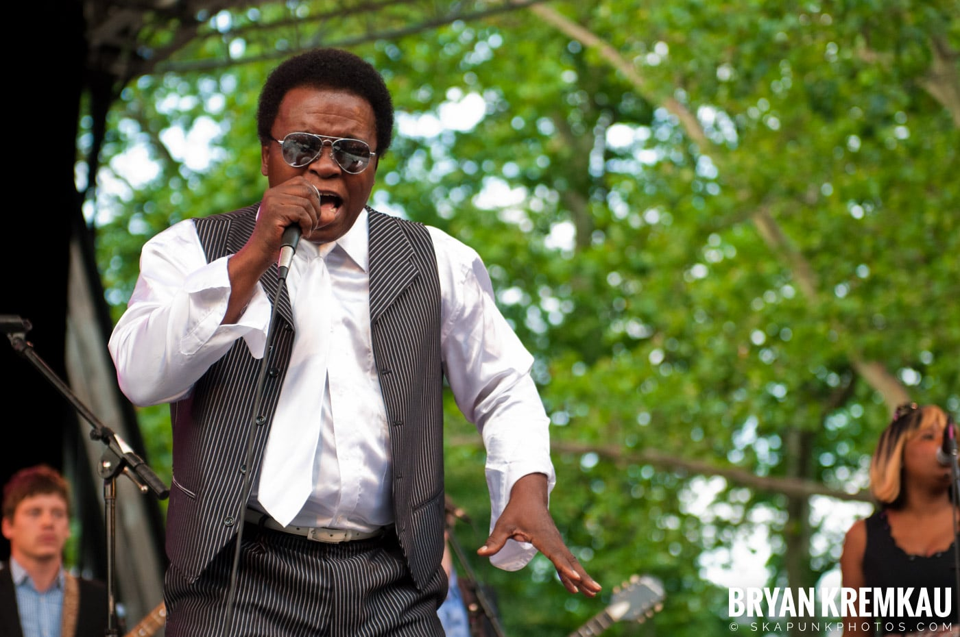 Lee Fields & The Expressions @ Central Park SummerStage, NYC - 6.24.11 (17)