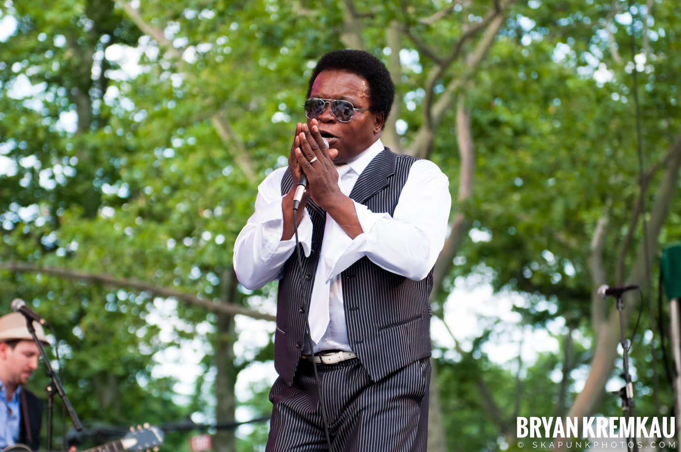 Lee Fields & The Expressions @ Central Park SummerStage, NYC - 6.24.11 (13)