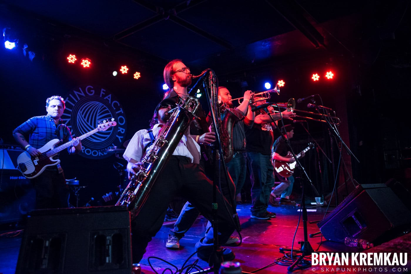 The Pandemics @ Knitting Factory, Brooklyn, NY - 12.30.16 (2)
