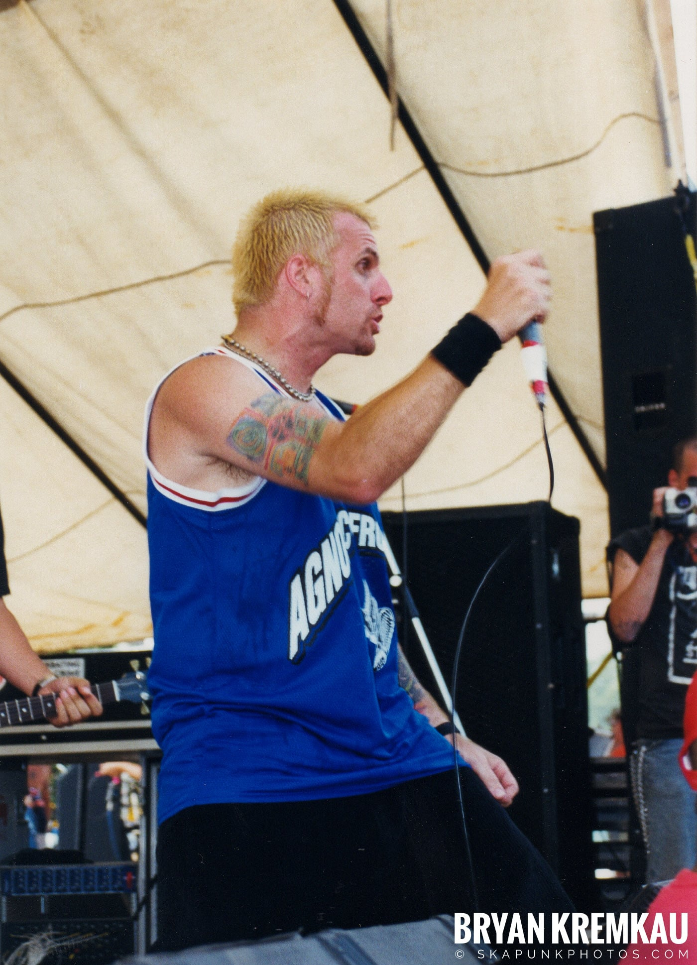 7 Seconds @ Vans Warped Tour, Randall's Island, NYC - 7.16.99 (5)