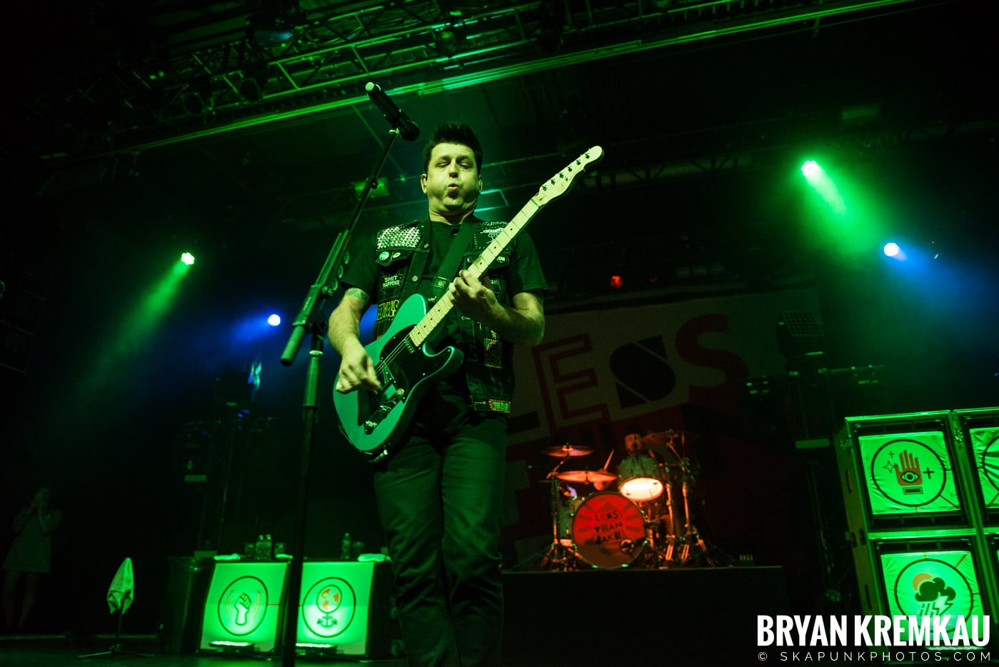 Less Than Jake @ Playstation Theater, NYC - 2.17.17 (42)