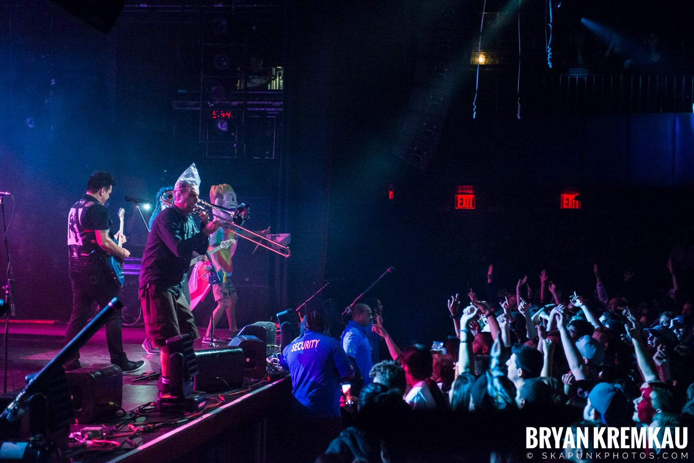 Less Than Jake @ Playstation Theater, NYC - 2.17.17 (16)