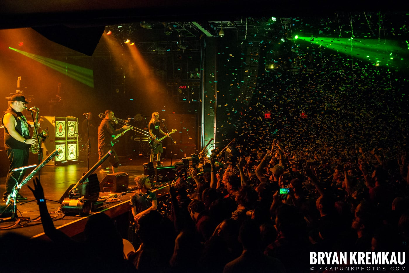 Less Than Jake @ Playstation Theater, NYC - 2.17.17 (6)