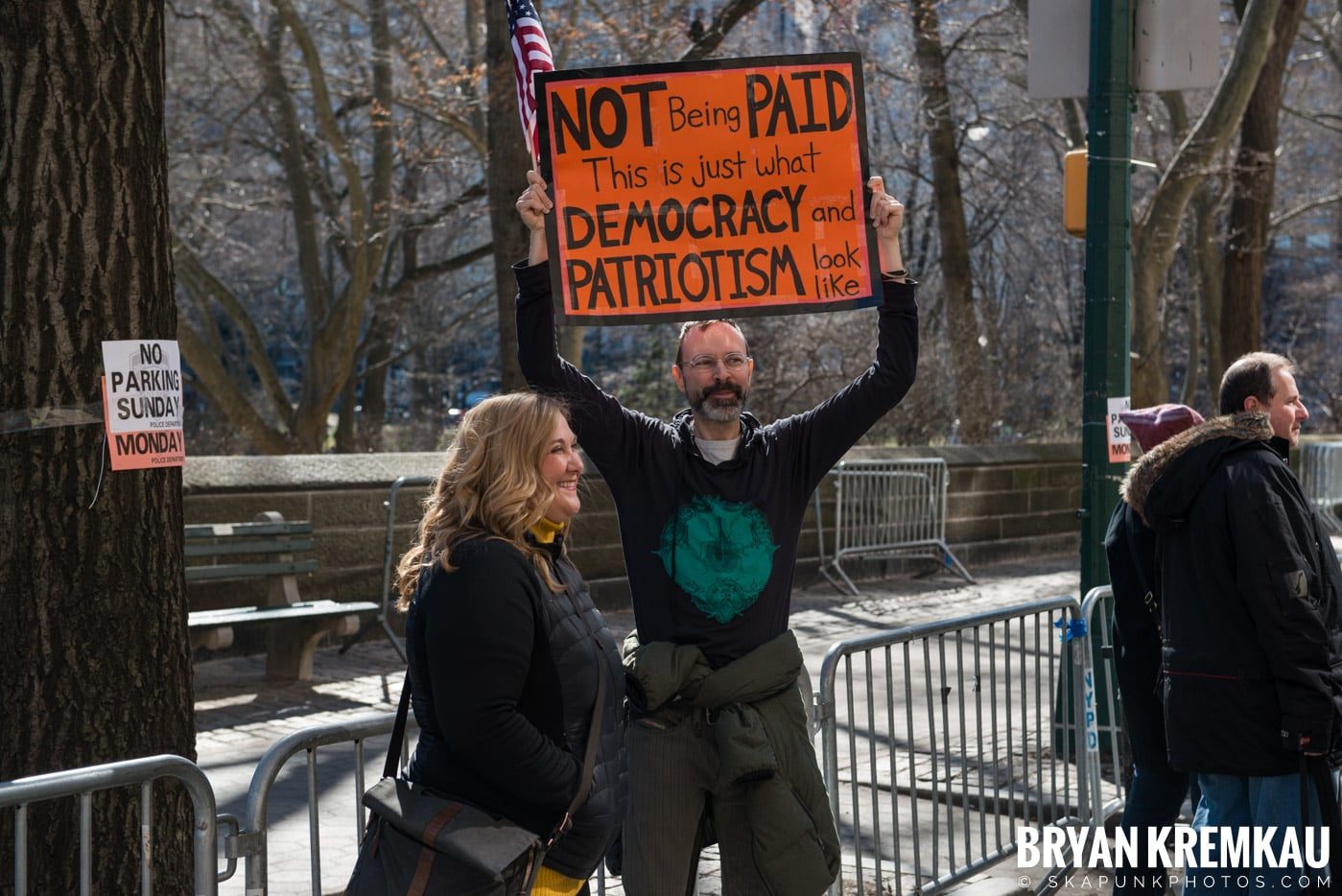 Not My President's Day Rally @ Columbus Circle, NYC - 2.20.17 (89)