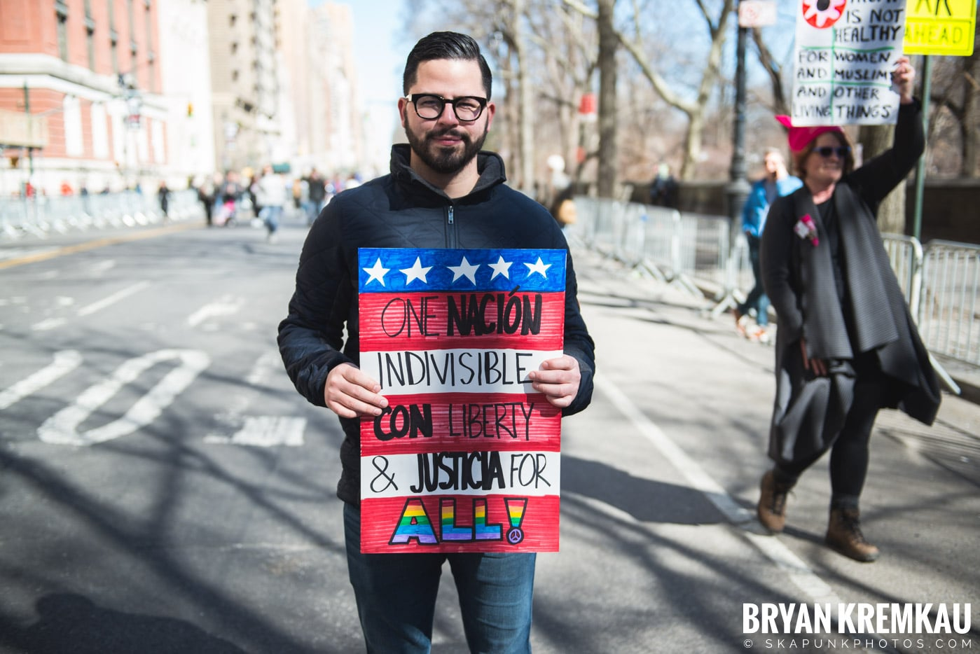 Not My President's Day Rally @ Columbus Circle, NYC - 2.20.17 (88)