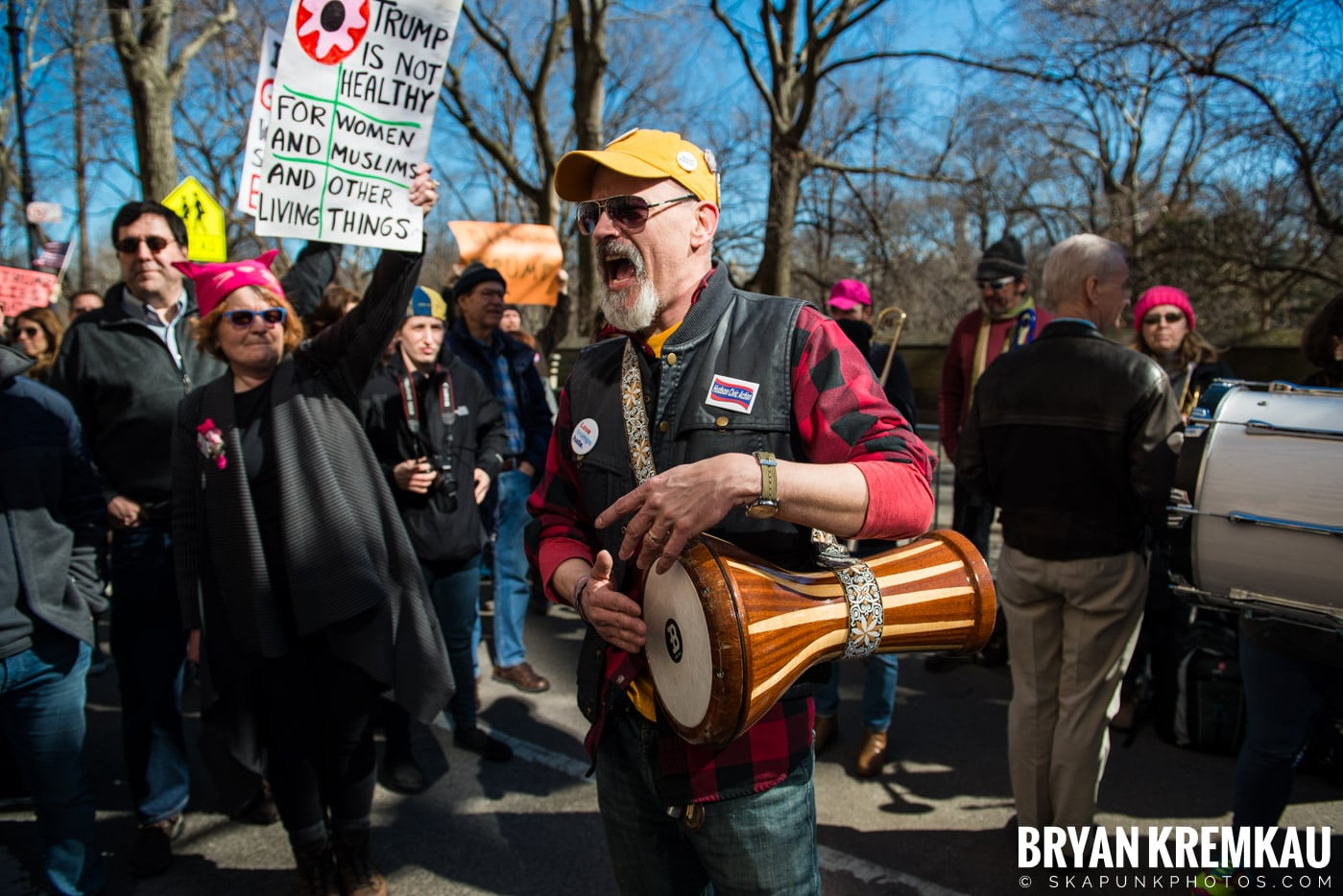 Not My President's Day Rally @ Columbus Circle, NYC - 2.20.17 (72)