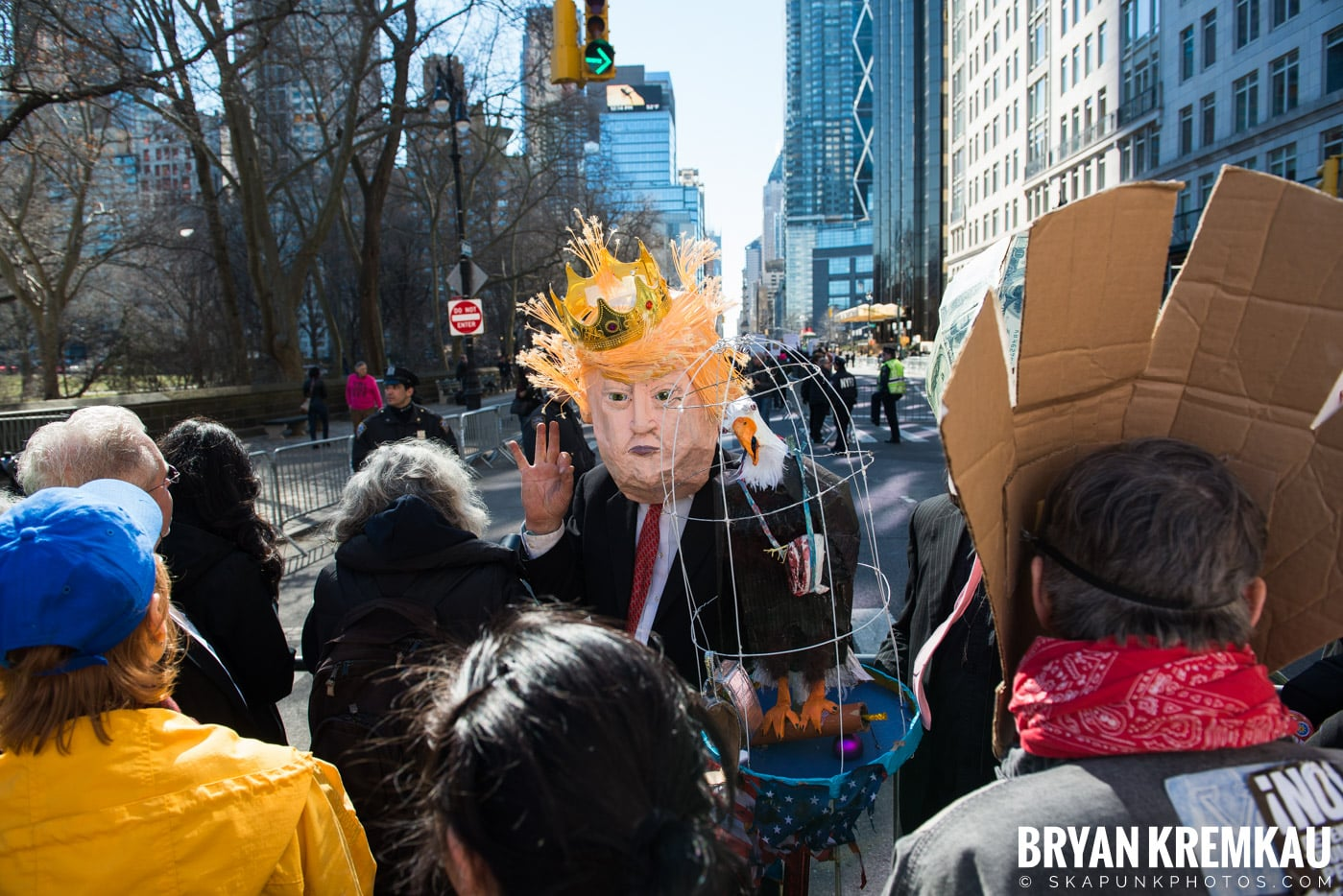 Not My President's Day Rally @ Columbus Circle, NYC - 2.20.17 (53)