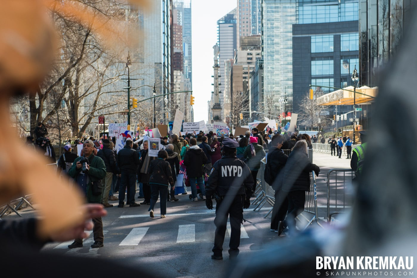Not My President's Day Rally @ Columbus Circle, NYC - 2.20.17 (51)