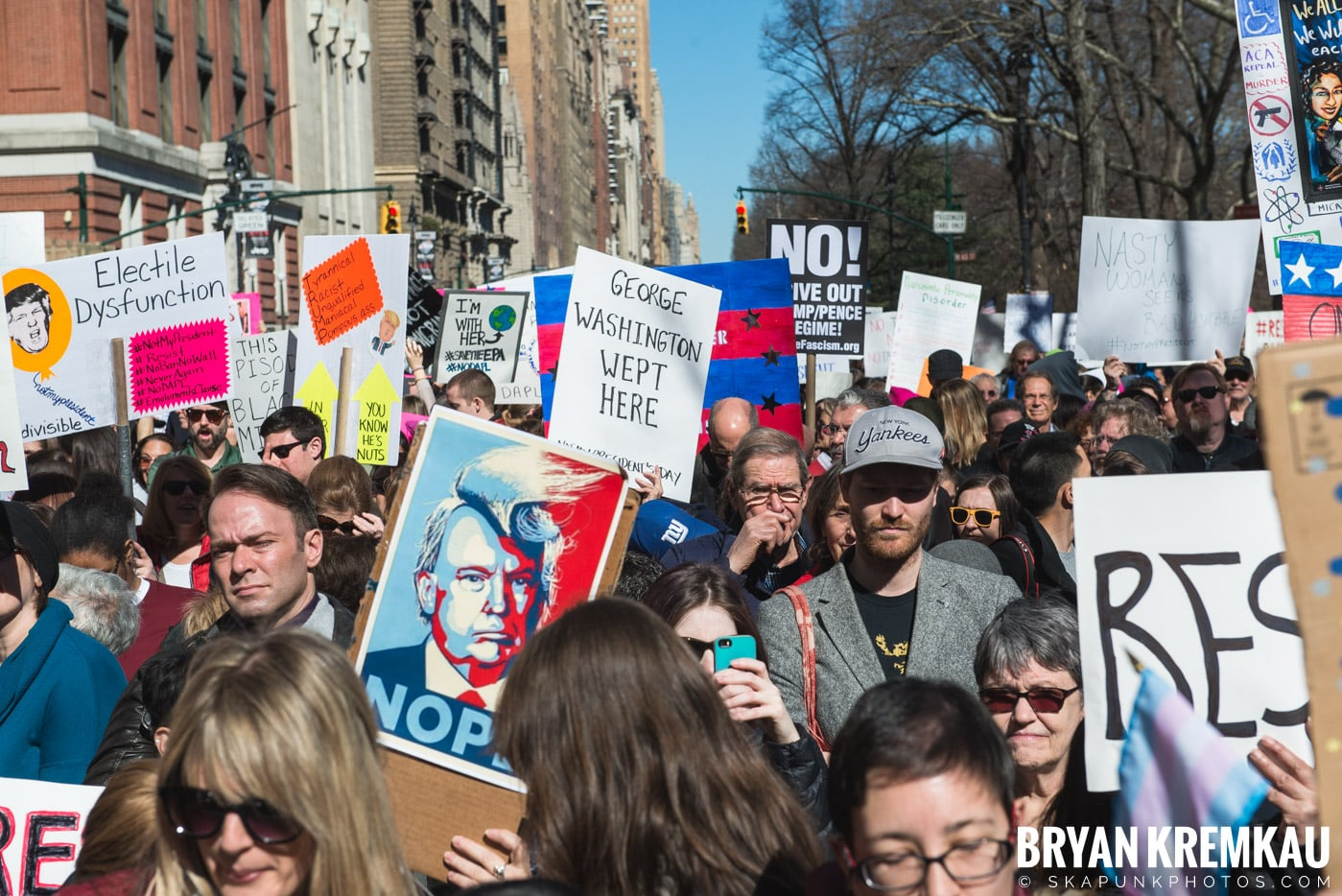 Not My President's Day Rally @ Columbus Circle, NYC - 2.20.17 (39)