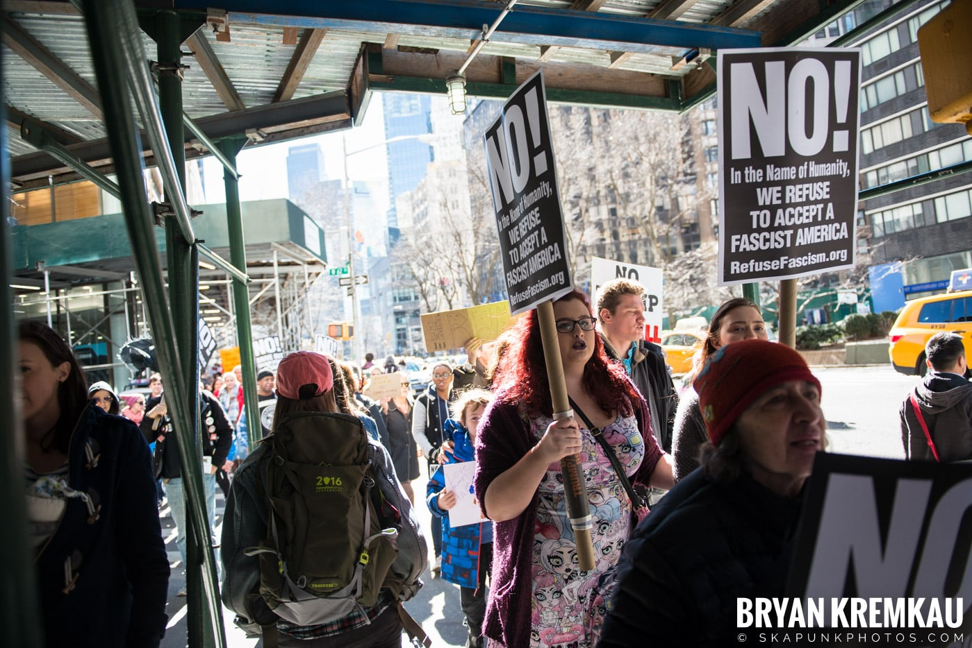 Not My President's Day Rally @ Columbus Circle, NYC - 2.20.17 (30)