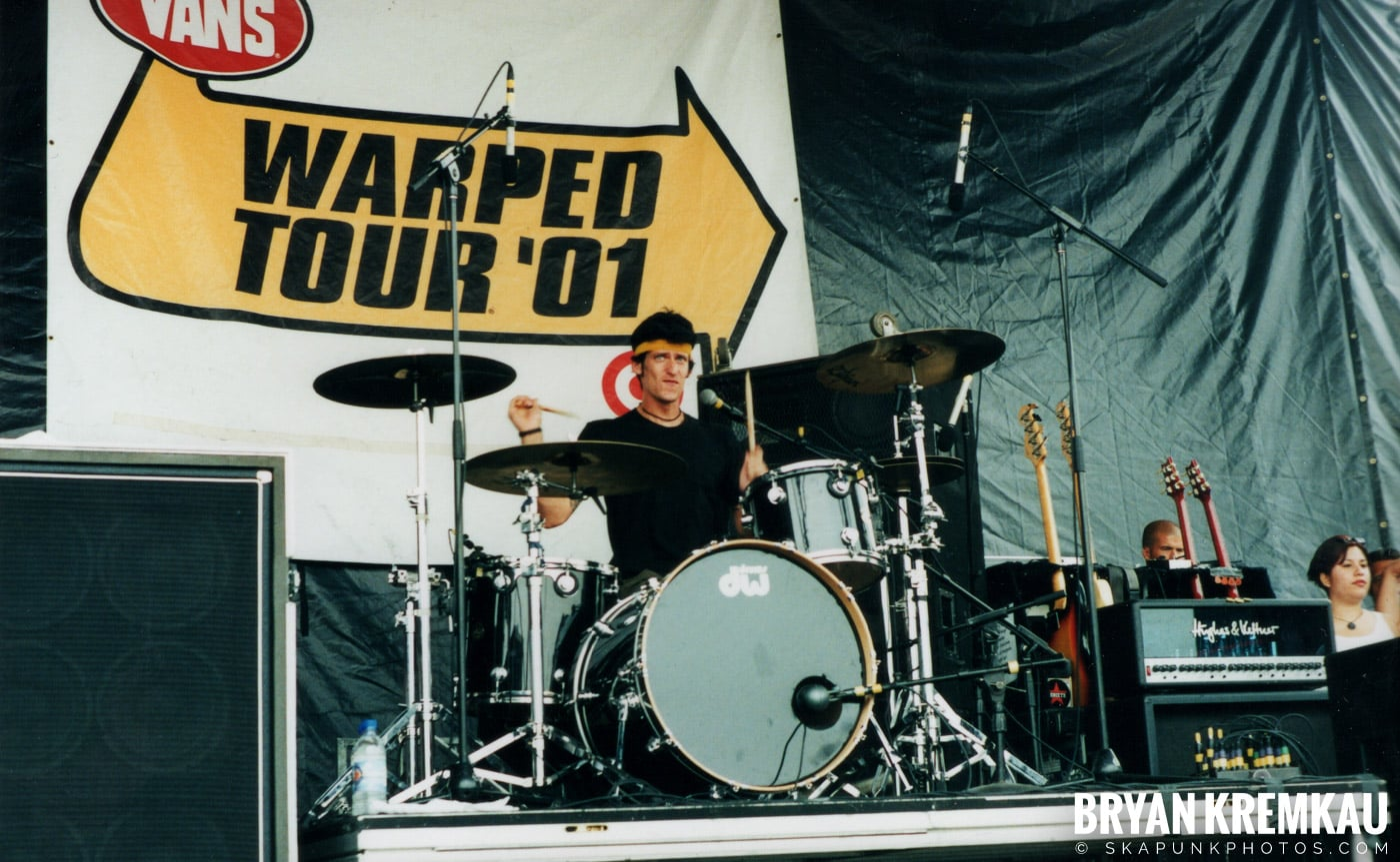 AFI @ Vans Warped Tour, Randall's Island, NYC - 8.4.01 (14)