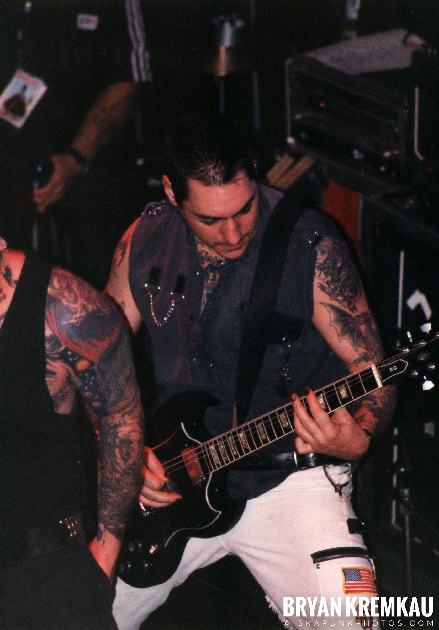 Agnostic Front @ The Chance, Poughkeepsie, NY - 10.31.98 (16)