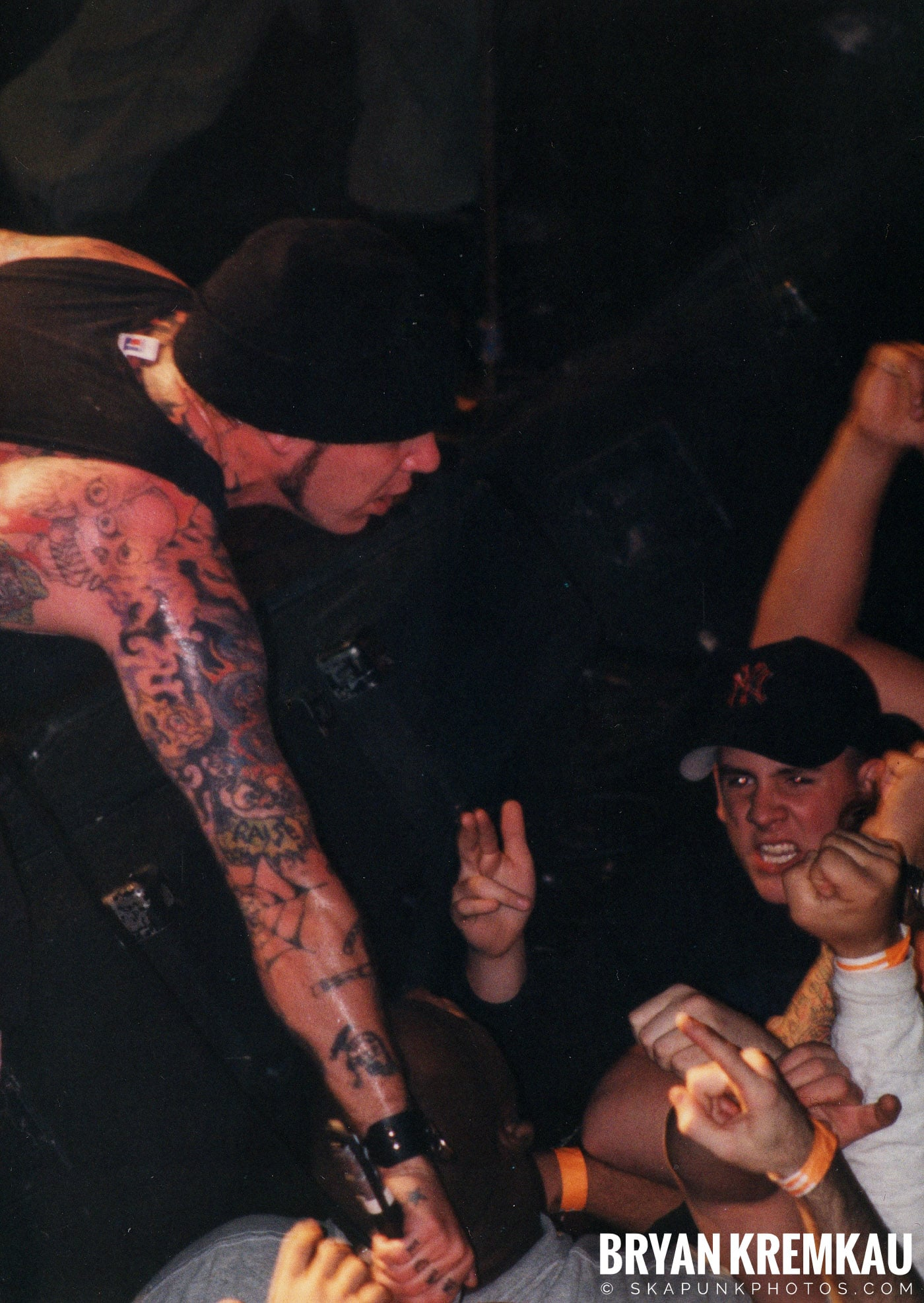 Agnostic Front @ The Chance, Poughkeepsie, NY - 10.31.98 (13)