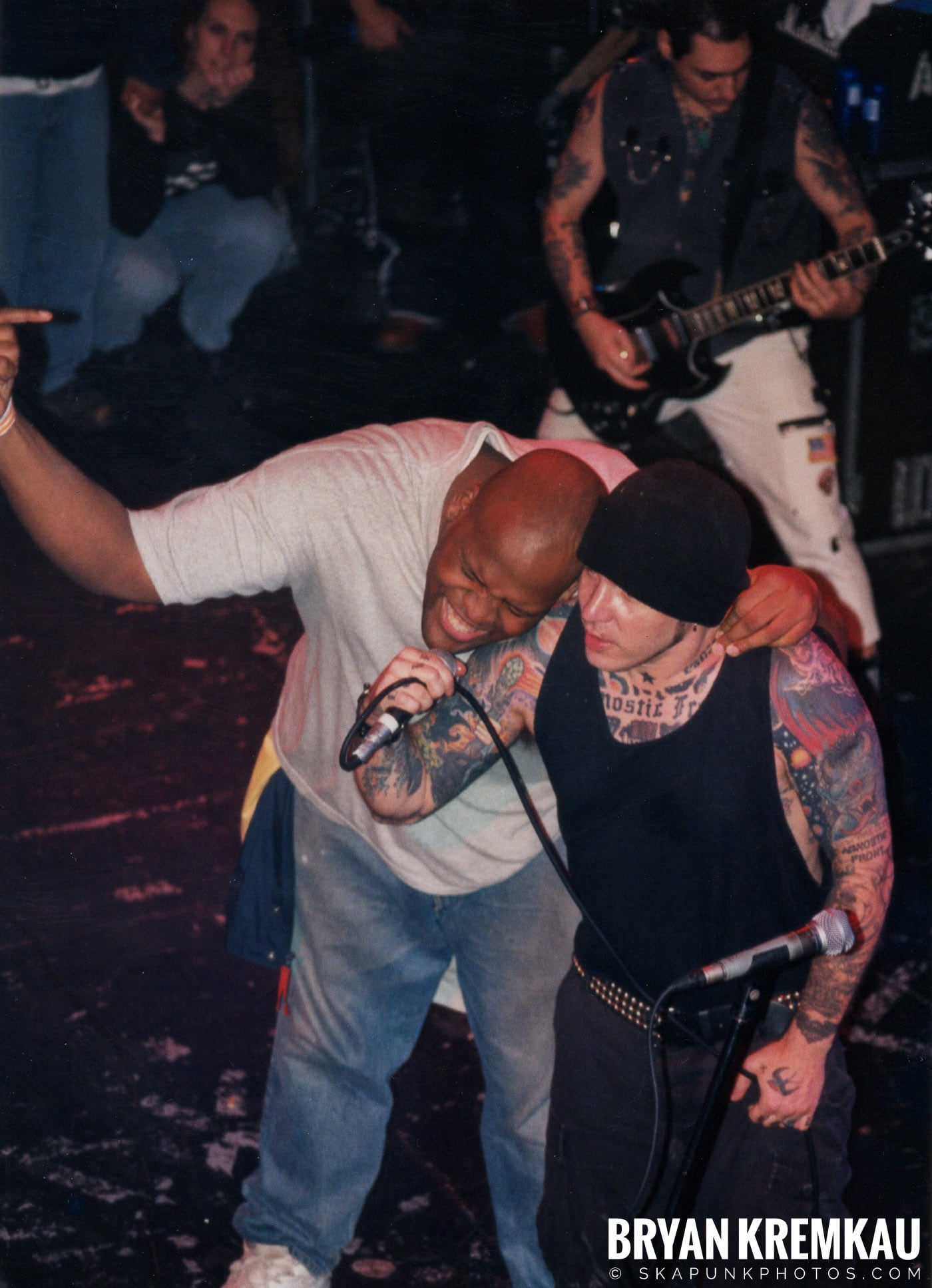Agnostic Front @ The Chance, Poughkeepsie, NY - 10.31.98 (10)