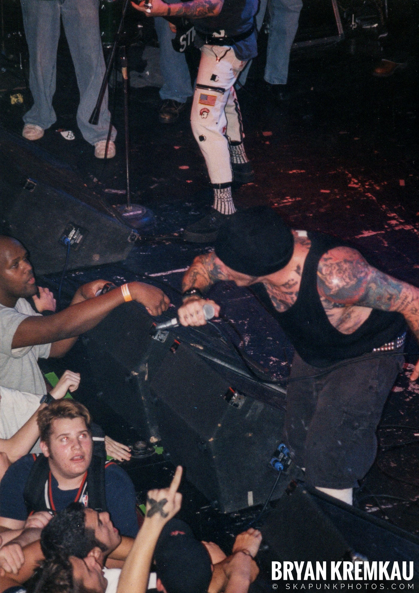 Agnostic Front @ The Chance, Poughkeepsie, NY - 10.31.98 (6)