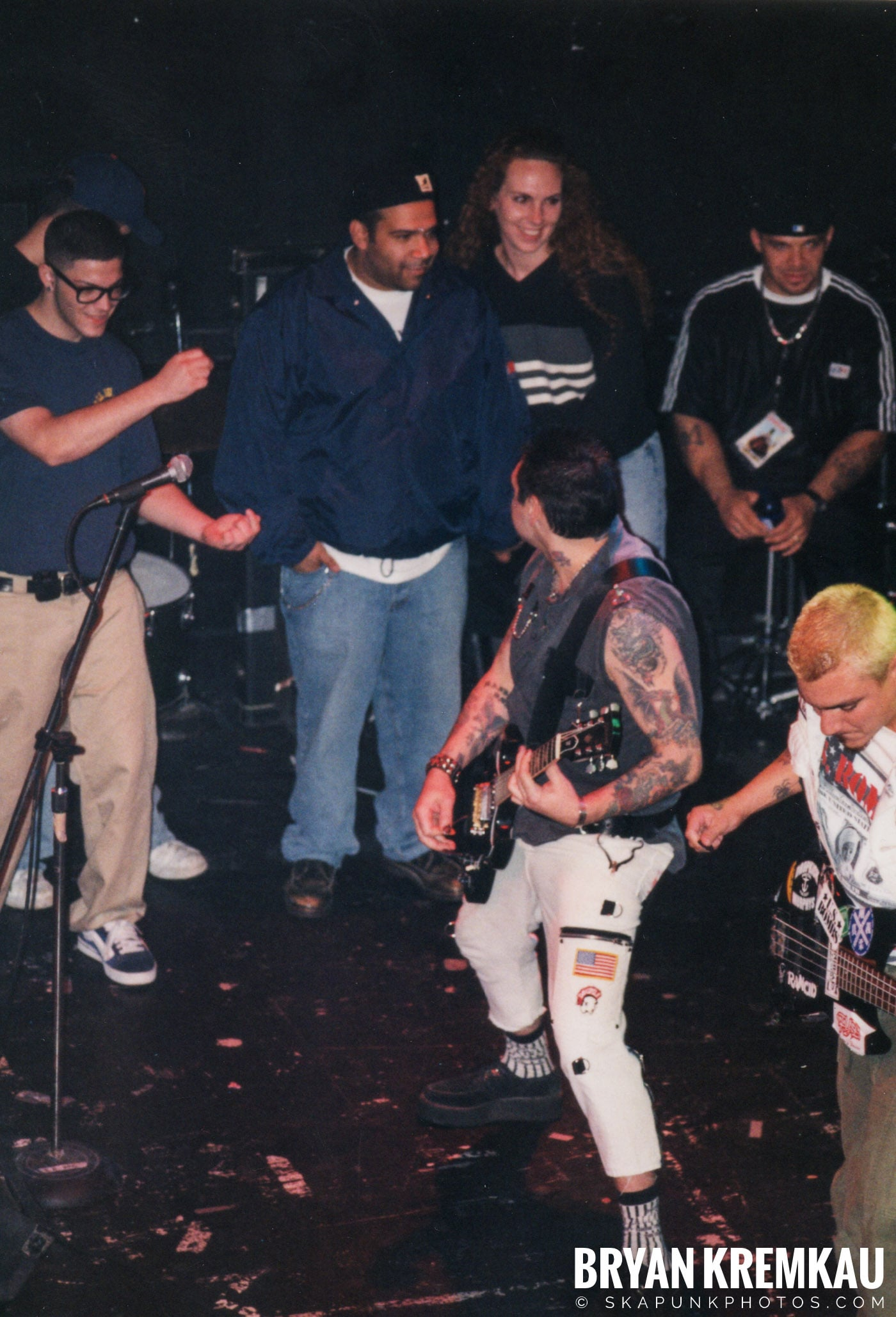 Agnostic Front @ The Chance, Poughkeepsie, NY - 10.31.98 (5)
