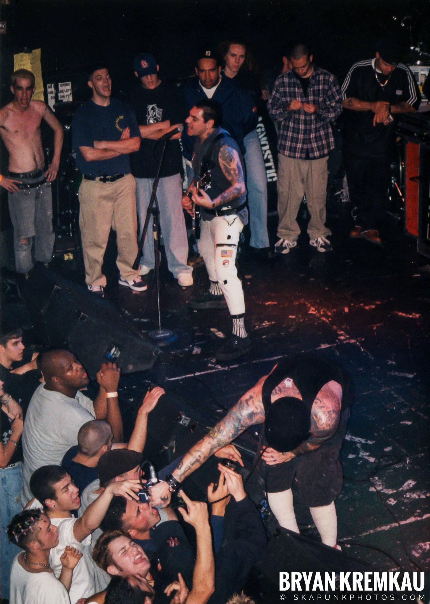 Agnostic Front @ The Chance, Poughkeepsie, NY - 10.31.98 (3)