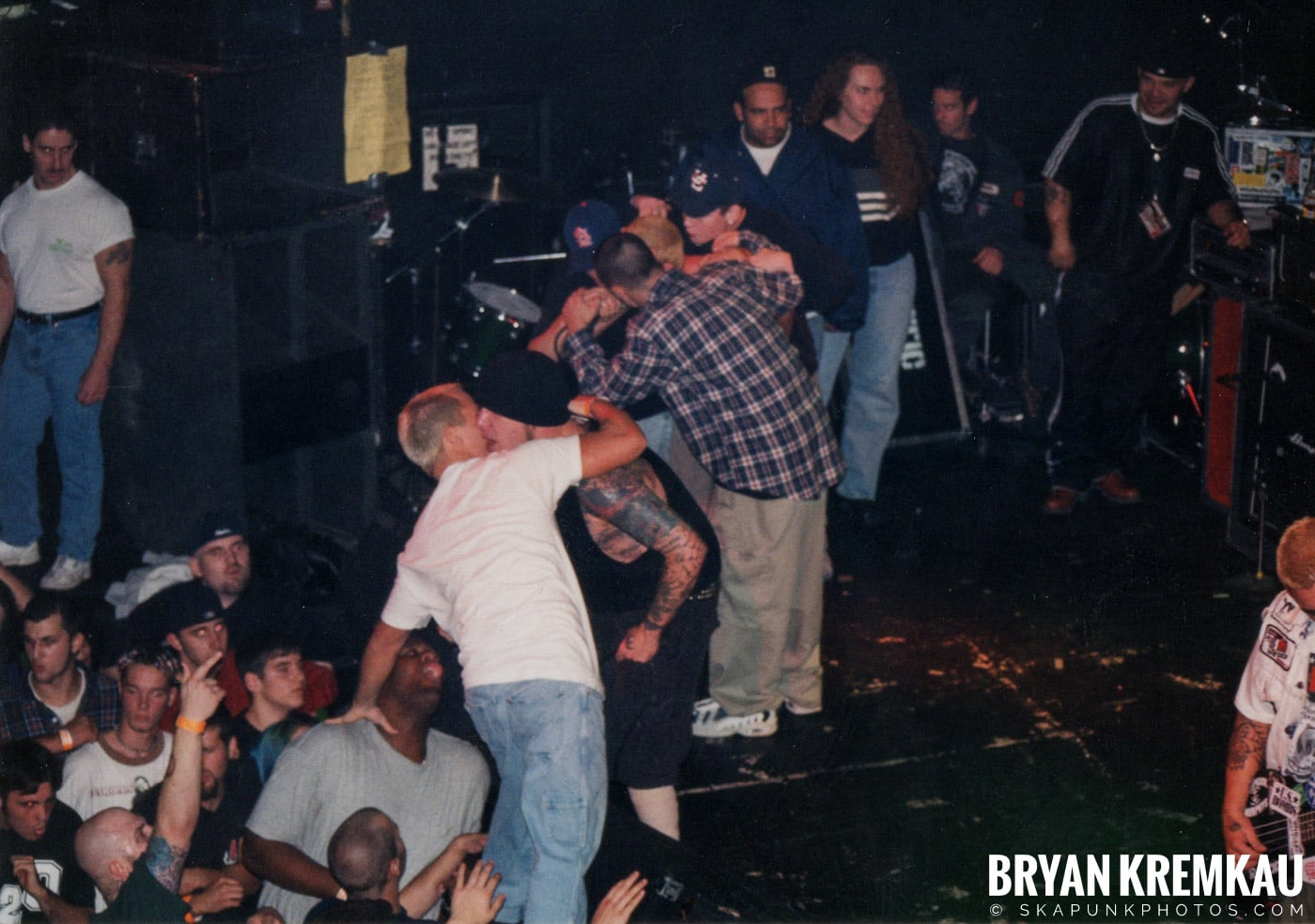 Agnostic Front @ The Chance, Poughkeepsie, NY - 10.31.98 (2)