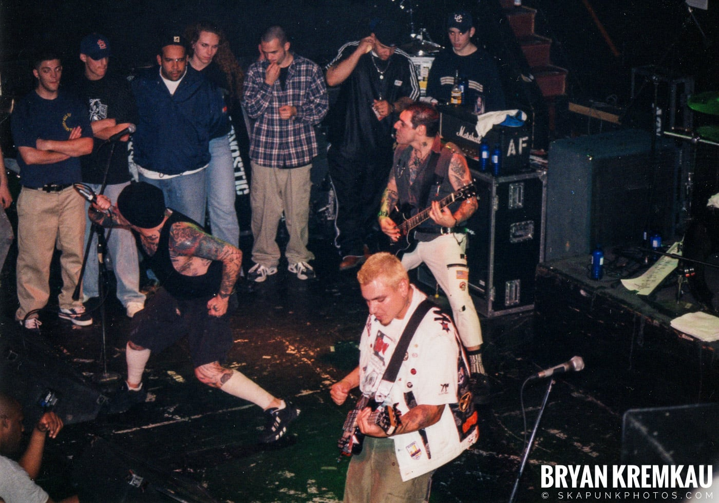 Agnostic Front @ The Chance, Poughkeepsie, NY - 10.31.98 (1)