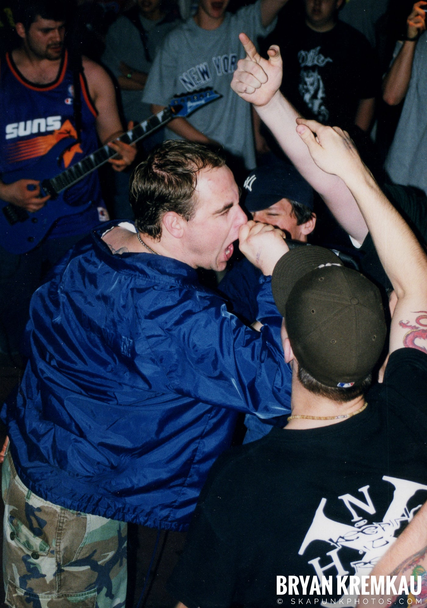 All Out War @ Sea Sea's, Moosic, PA - 5.7.99 (17)