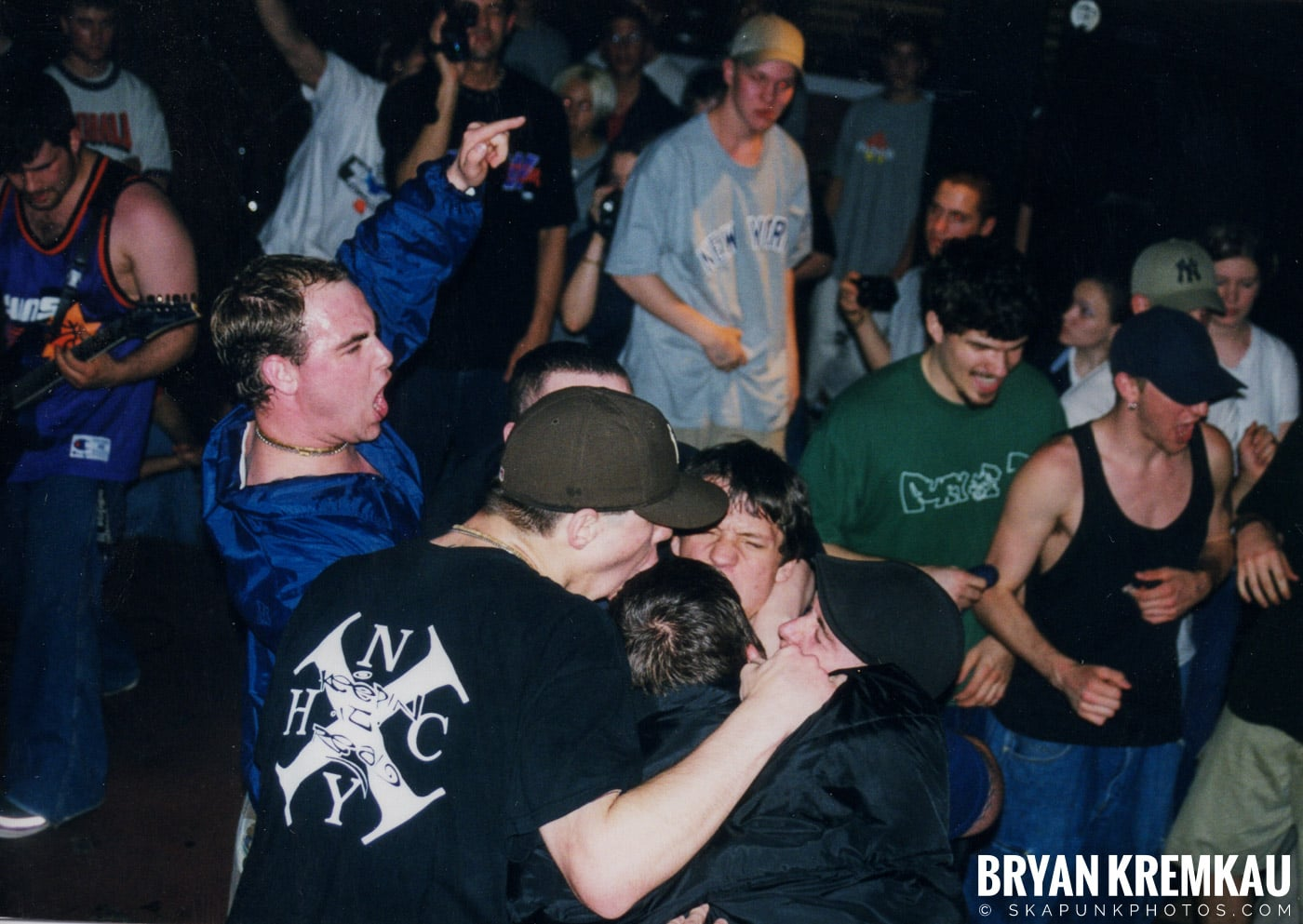All Out War @ Sea Sea's, Moosic, PA - 5.7.99 (16)
