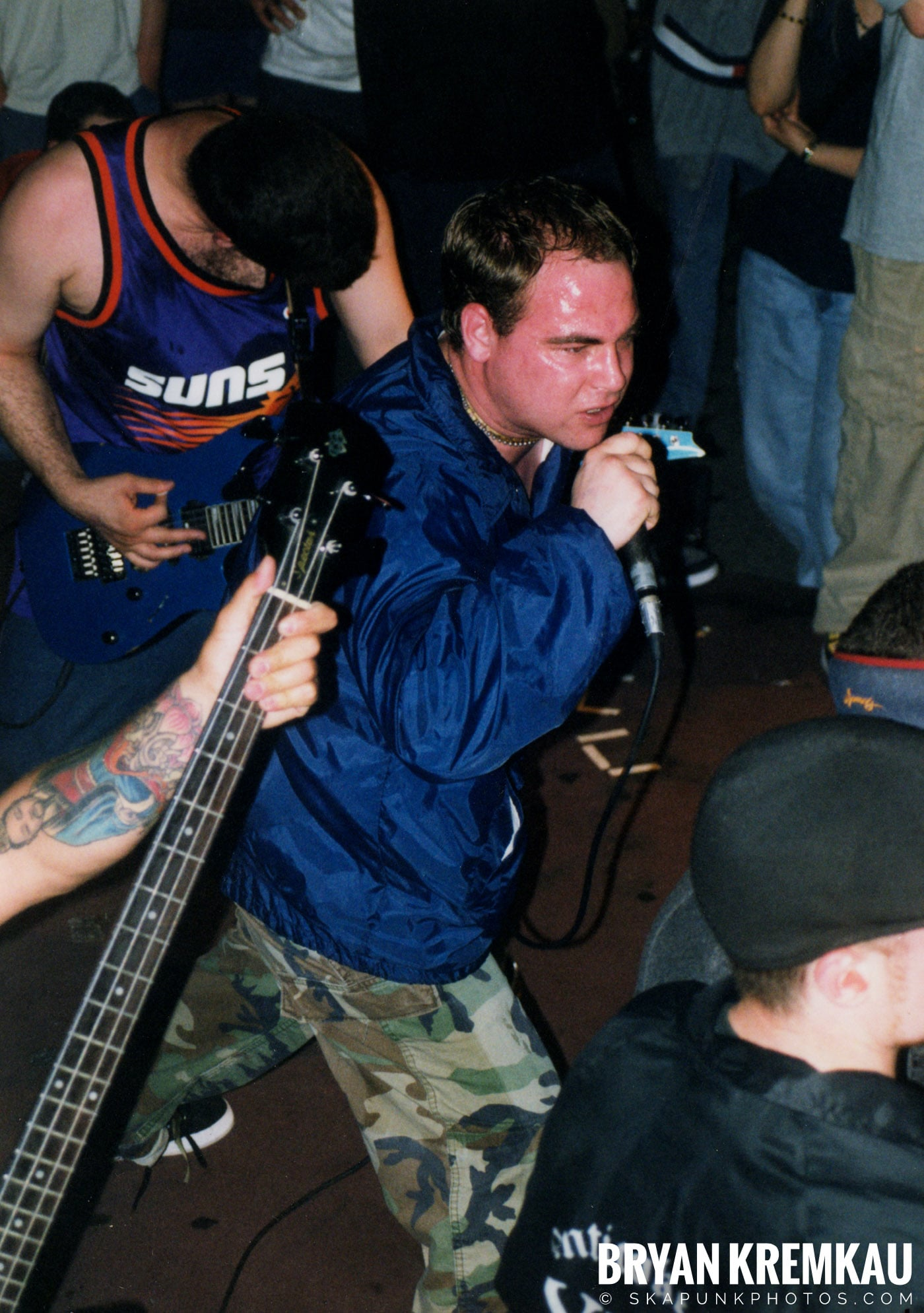 All Out War @ Sea Sea's, Moosic, PA - 5.7.99 (15)
